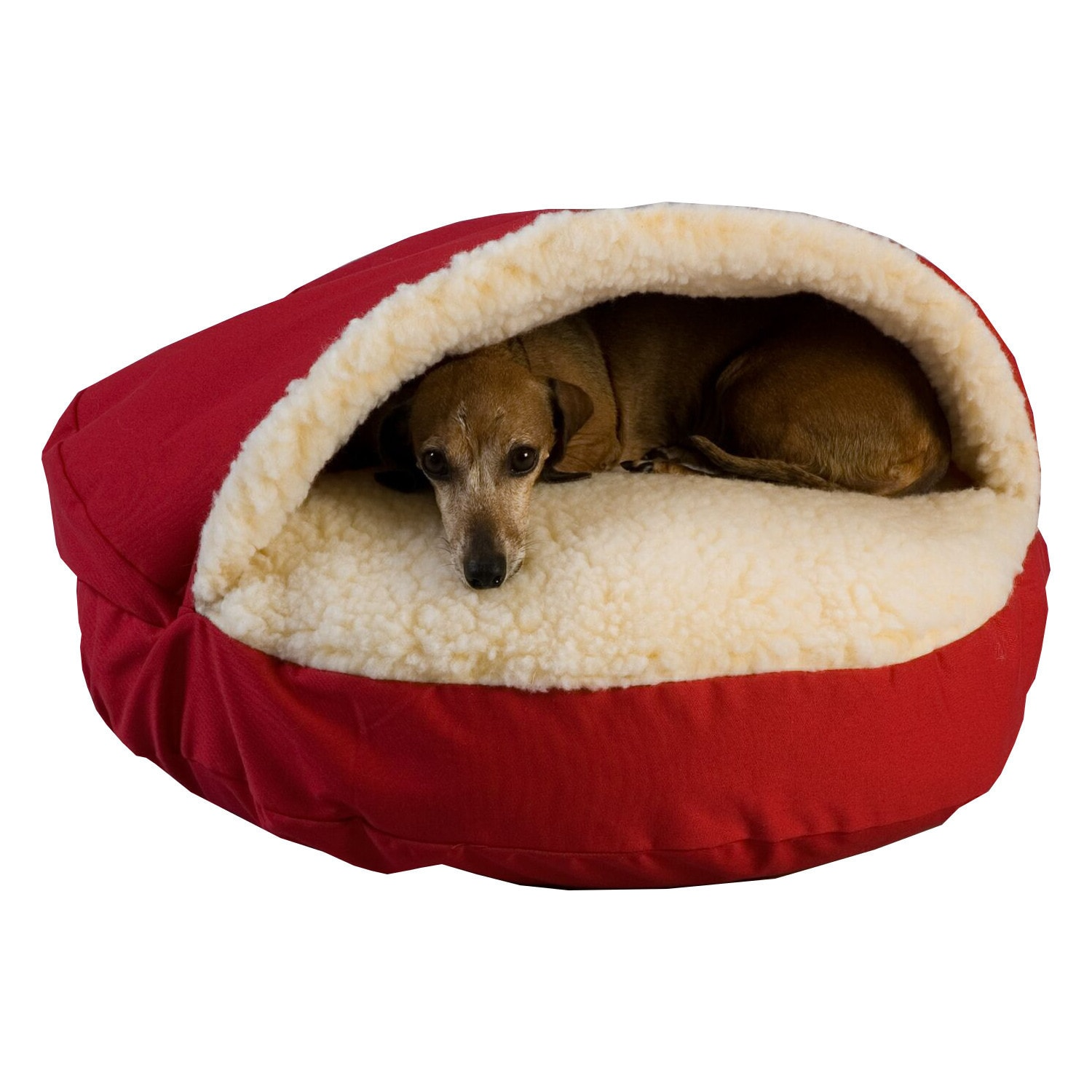 video orthopedic main snoozer bed khaki ac cozy dog cat dp products cave pet