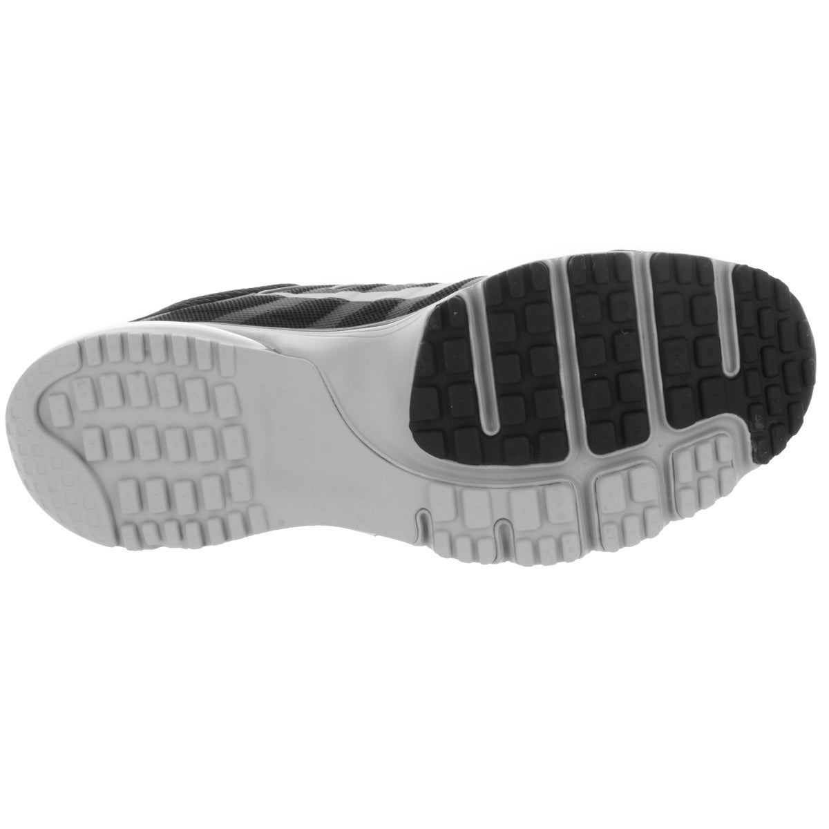 buy online 9db6a 2dce2 Shop Nike Men s Air Max Excellerate 4 Black White Dark Grey Running Shoe -  Free Shipping Today - Overstock - 12117827