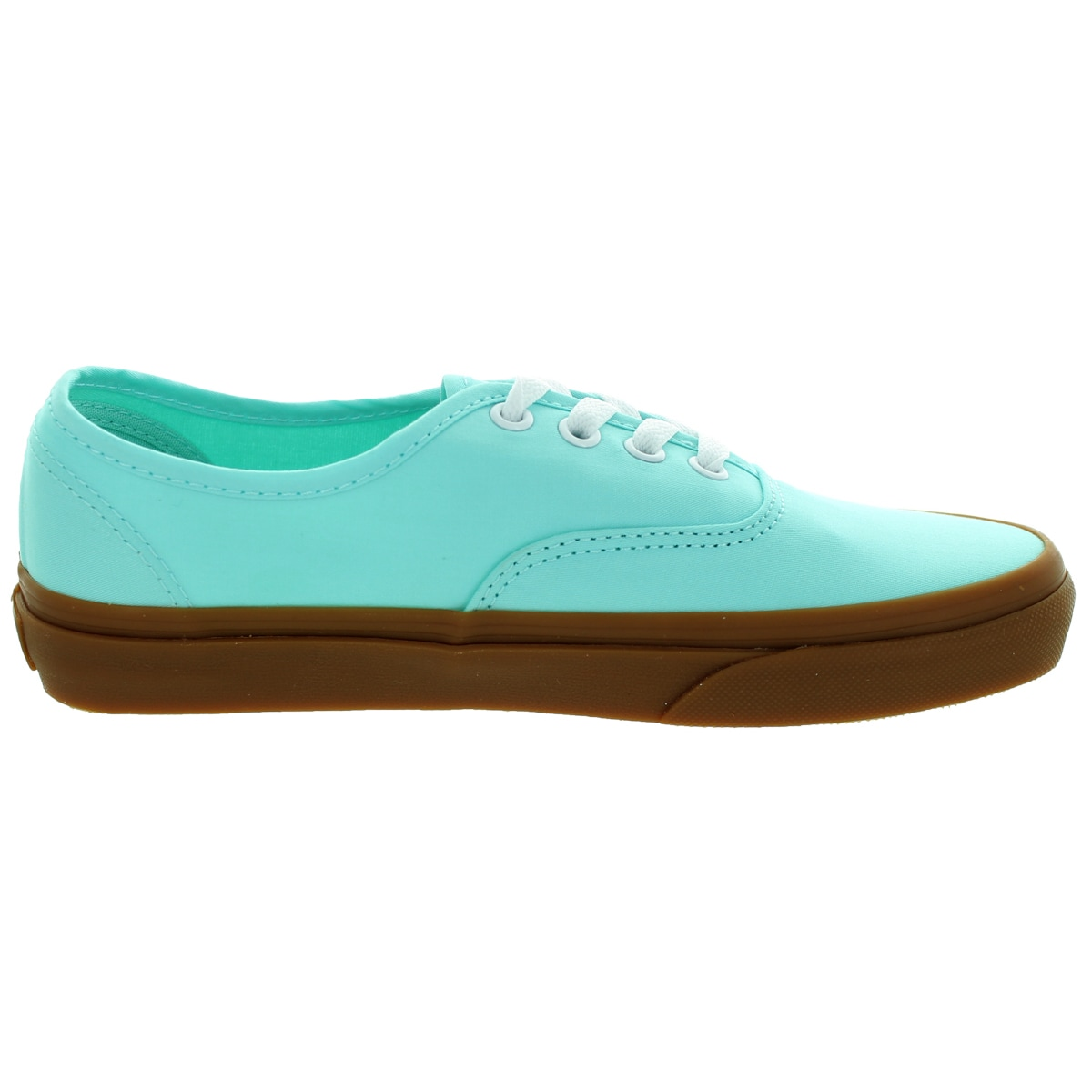 58486258fca Shop Vans Unisex Authentic Brushed Twill Blue Tint Gum Skate Shoe - Free  Shipping Today - Overstock.com - 12117908