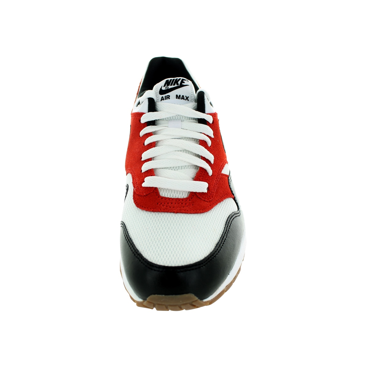 037d697472 Shop Nike Men's Air Max 1 Essential White/Black/Gamma Orange Running Shoe -  Ships To Canada - Overstock - 12118157