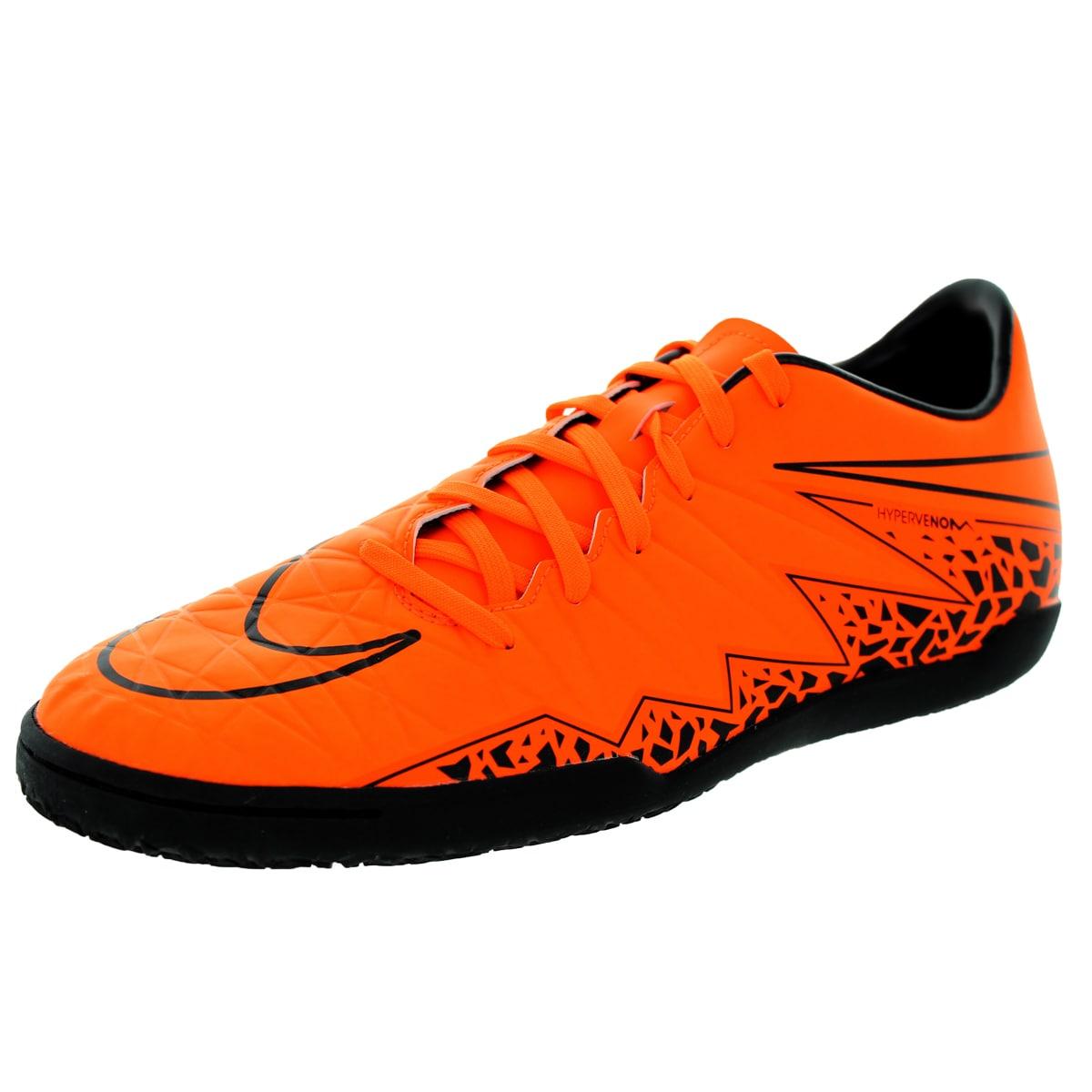 dc9d75327ac Shop Nike Men s Hypervenom Phelon Ii Ic Total Orange Orange Black Black Indoor  Soccer Shoe - Free Shipping Today - Overstock - 12118242