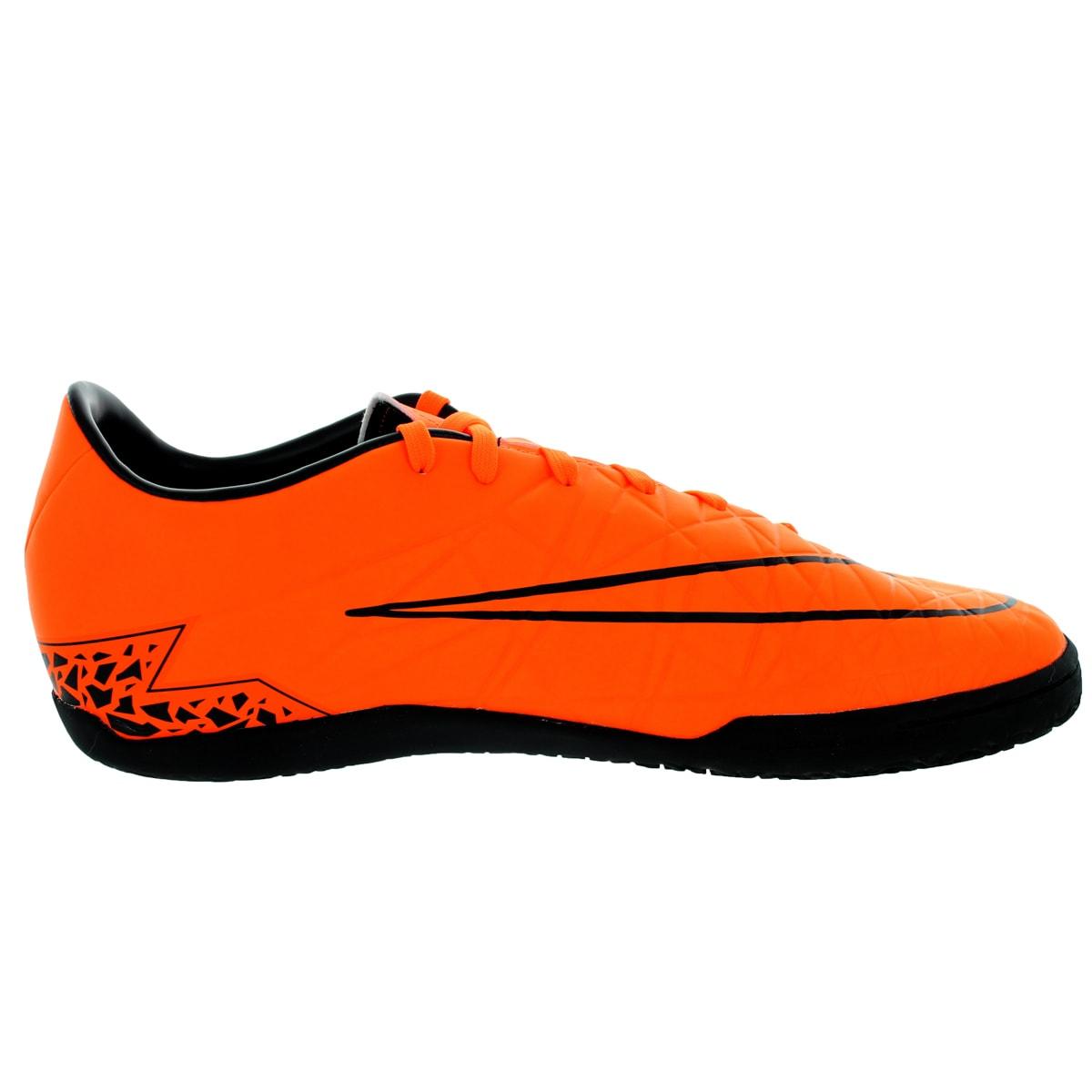 af950699a Shop Nike Men s Hypervenom Phelon Ii Ic Total Orange Orange Black Black  Indoor Soccer Shoe - Free Shipping Today - Overstock - 12118242