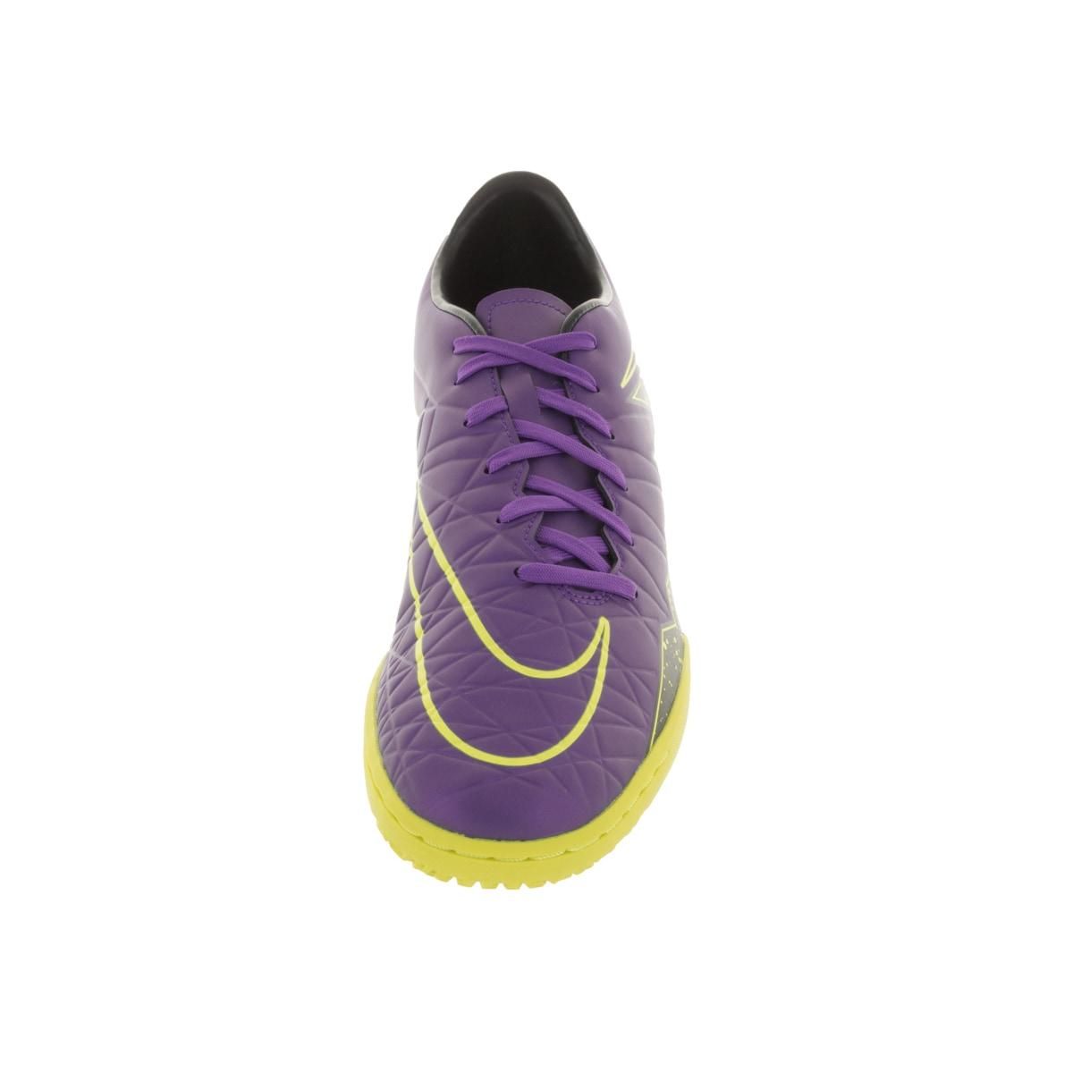 c7146cf742d102 Shop Nike Men s Hypervenom Phelon Ii Ic Hyper Grape  Grape Black Vlt Indoor  Soccer Shoe - Free Shipping Today - Overstock.com - 12118245