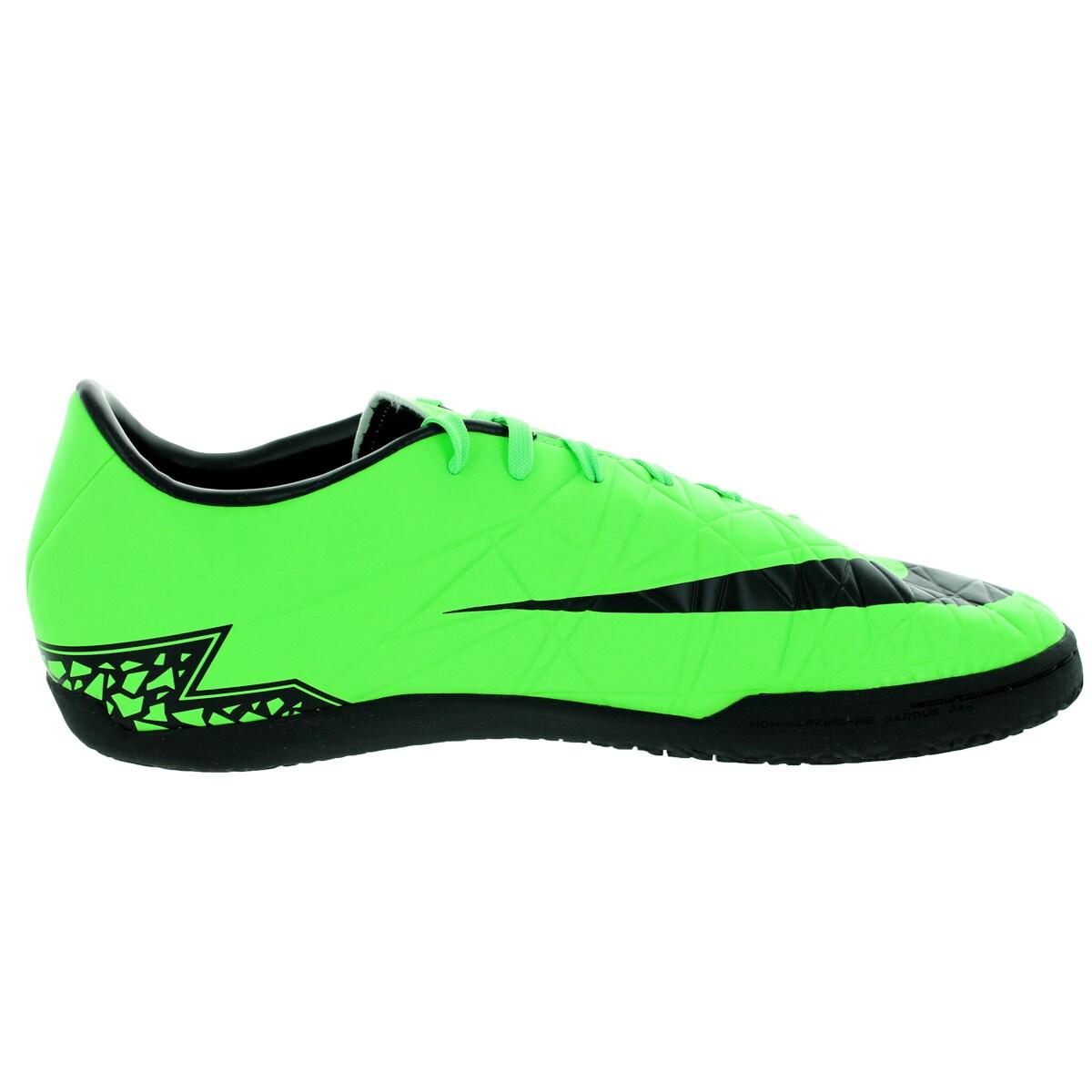 2b338bdd1 Shop Nike Men's Hypervenom Phelon Ii Ic Green Strike/Black/Black Indoor  Soccer Shoe - Free Shipping Today - Overstock - 12118258