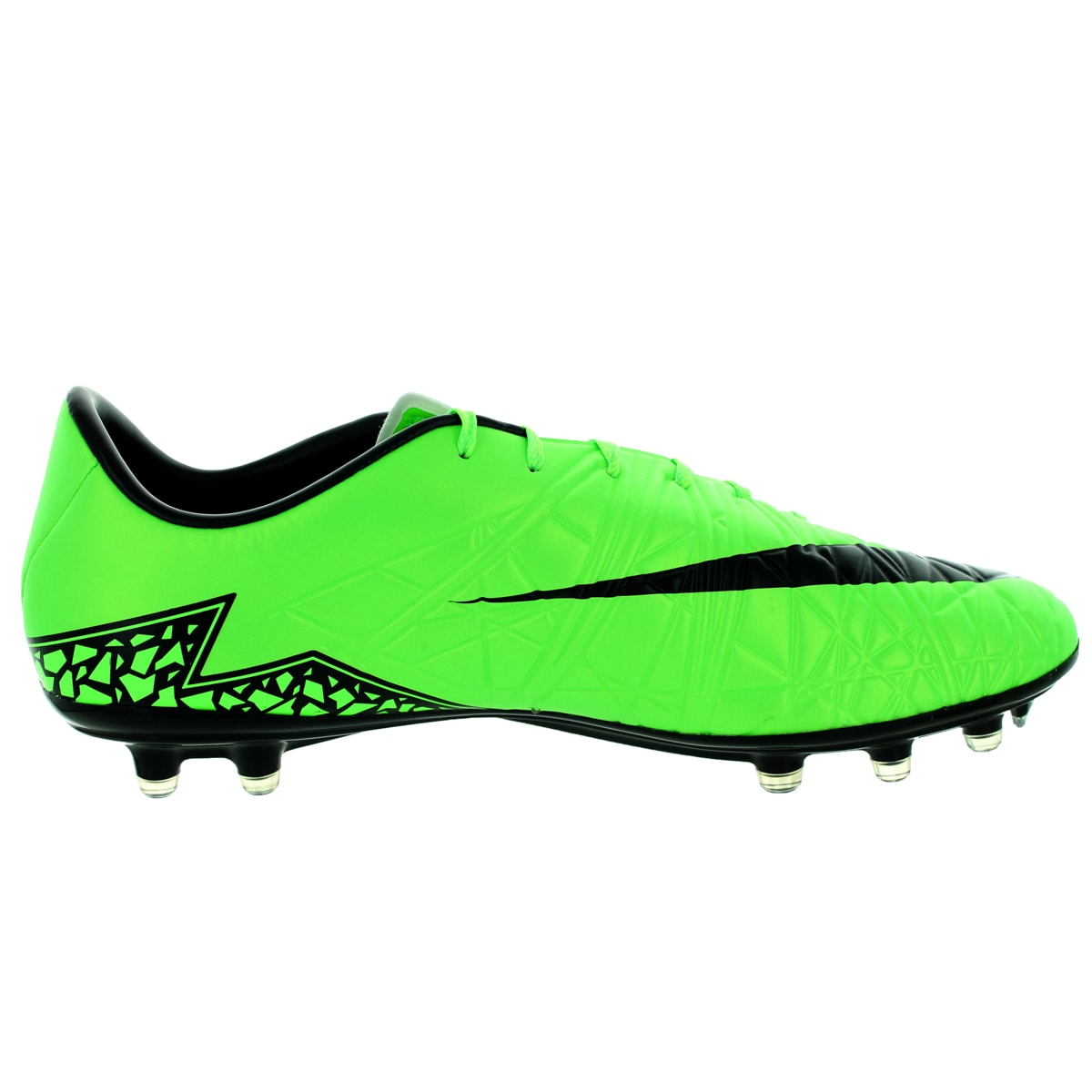 22949a83da8a Shop Nike Men s Hypervenom Phatal Ii Fg Green Strike Black Black Soccer  Cleat - Free Shipping Today - Overstock - 12118294