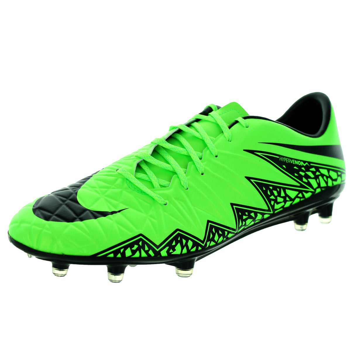 75a071b17031 Nike Men s Hypervenom Phatal Ii Fg Green Strike Black Black Soccer Cleat