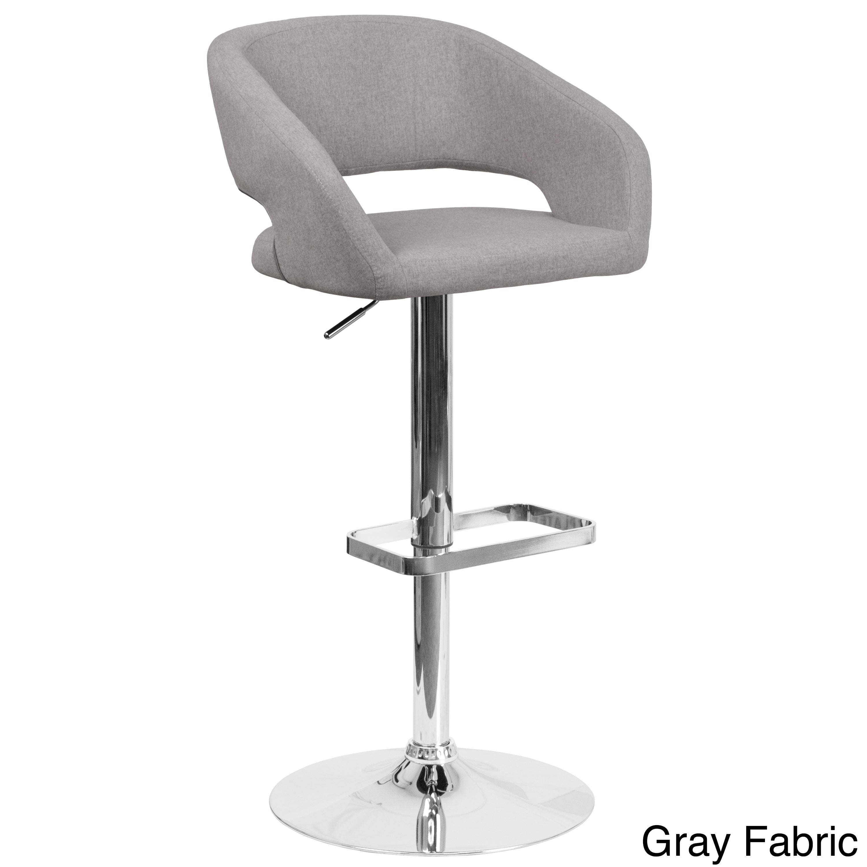 Simple Adjustable Height Barstool - Contemporary-Adjustable-Height-Barstool-with-Chrome-Base-58697f9d-6c65-48e9-84d0-97ab6621aee9  Trends_151325.jpg