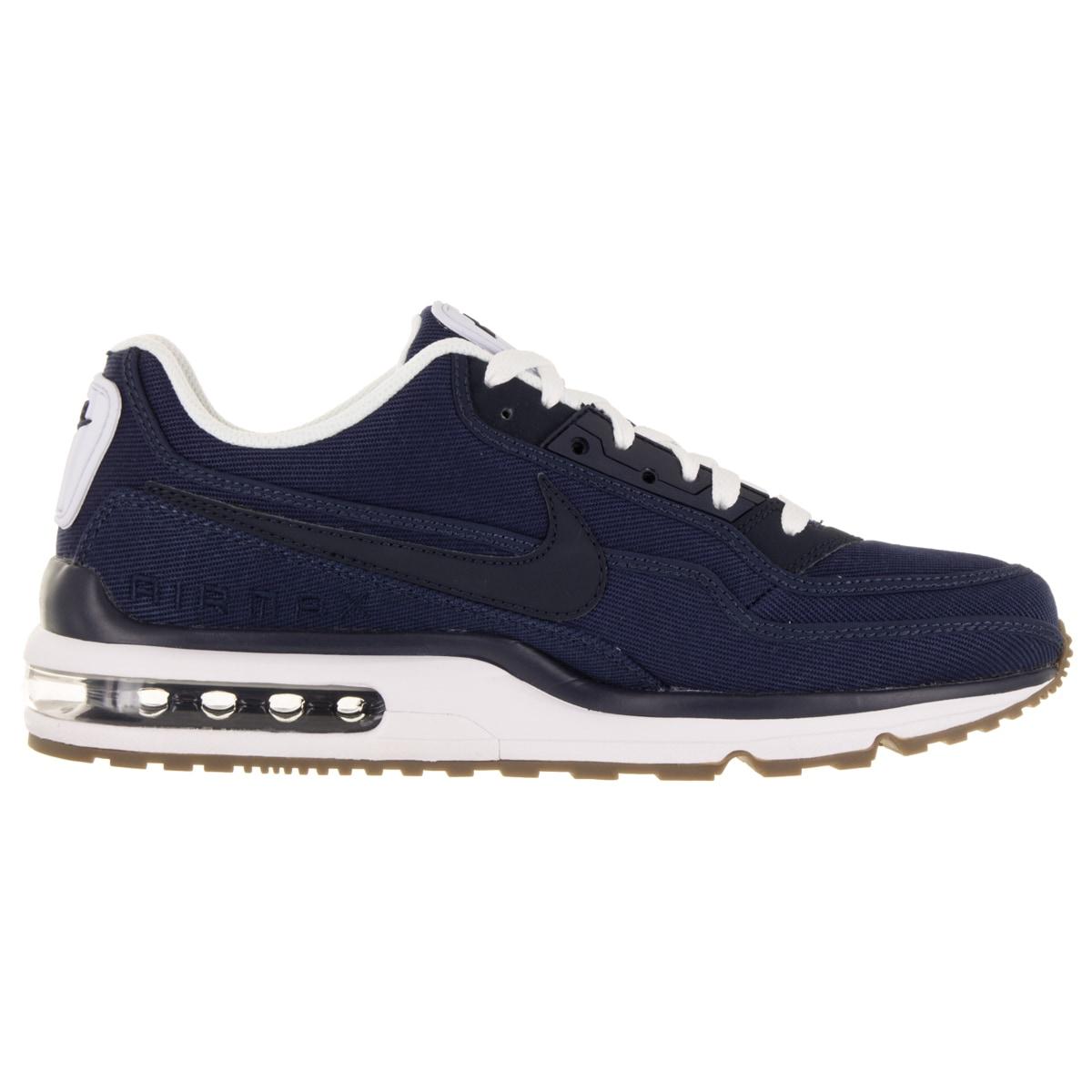 ef1e36c519 Shop Nike Men's Air Max Ltd 3 Txt Mid Navy/Obsidian/White/Gm Dark Brw Running  Shoe - Free Shipping Today - Overstock - 12120035