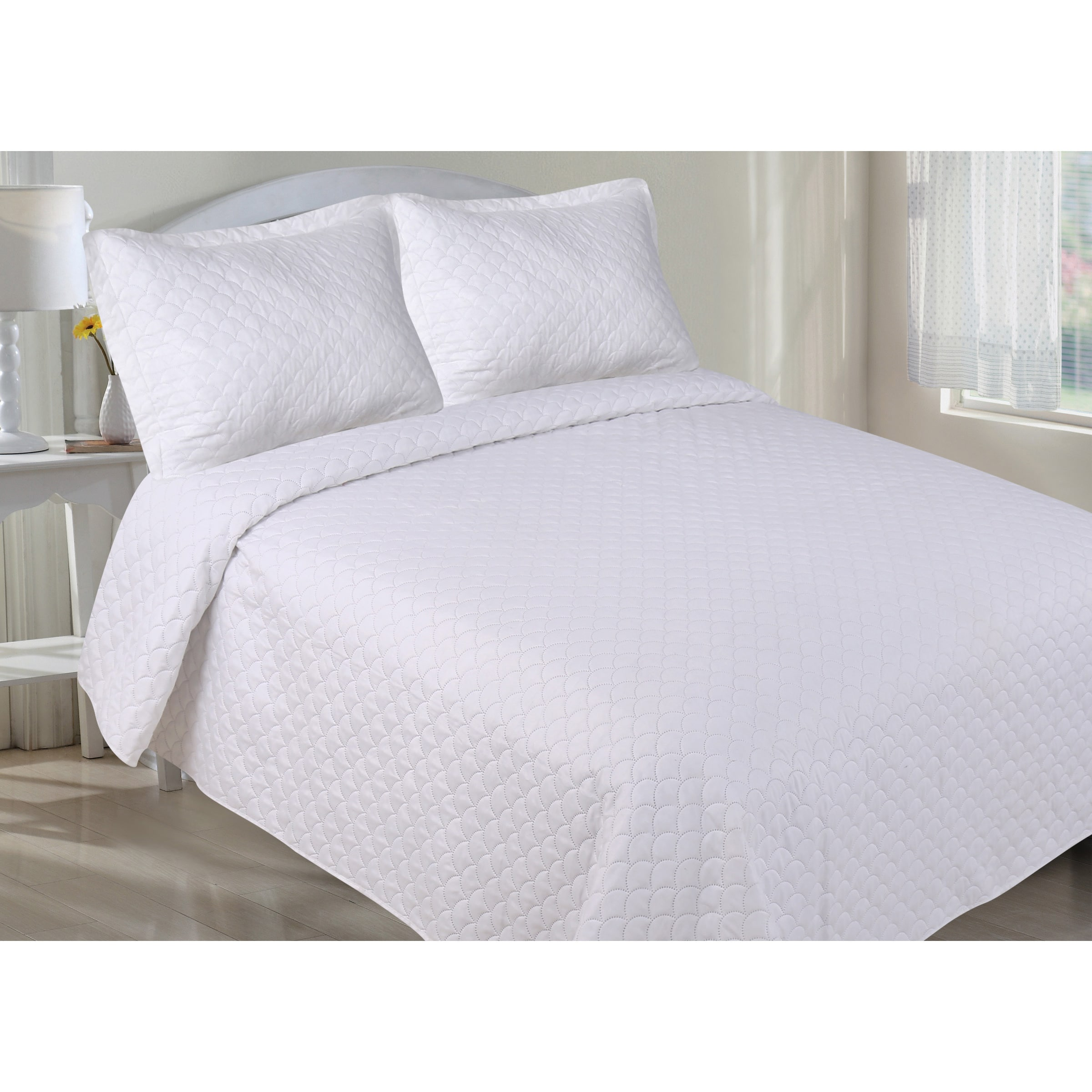 duvet joanna home magnolia by gaines products platform bed cover furniture scallop low queen with profile trimming or