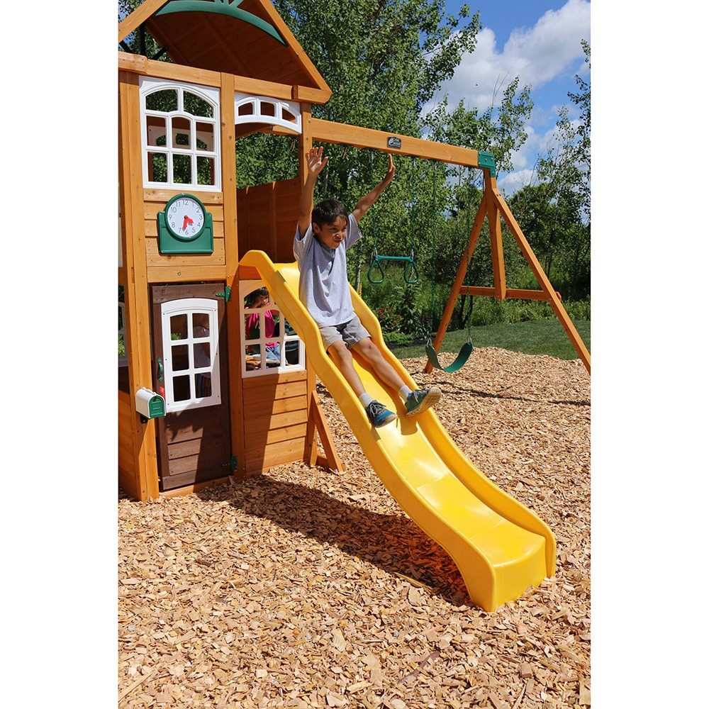 Kidkraft Lewiston Retreat Kids Wooden Play Set