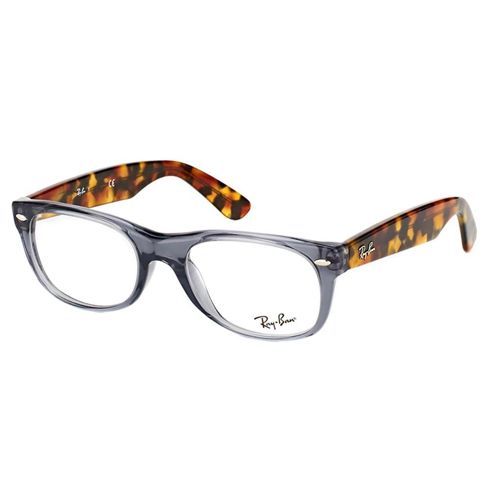 fb8d5fc73b Ray-Ban RX 5184 5629 Wayfarer Opal Grey Plastic 52-millimeter Eyeglasses