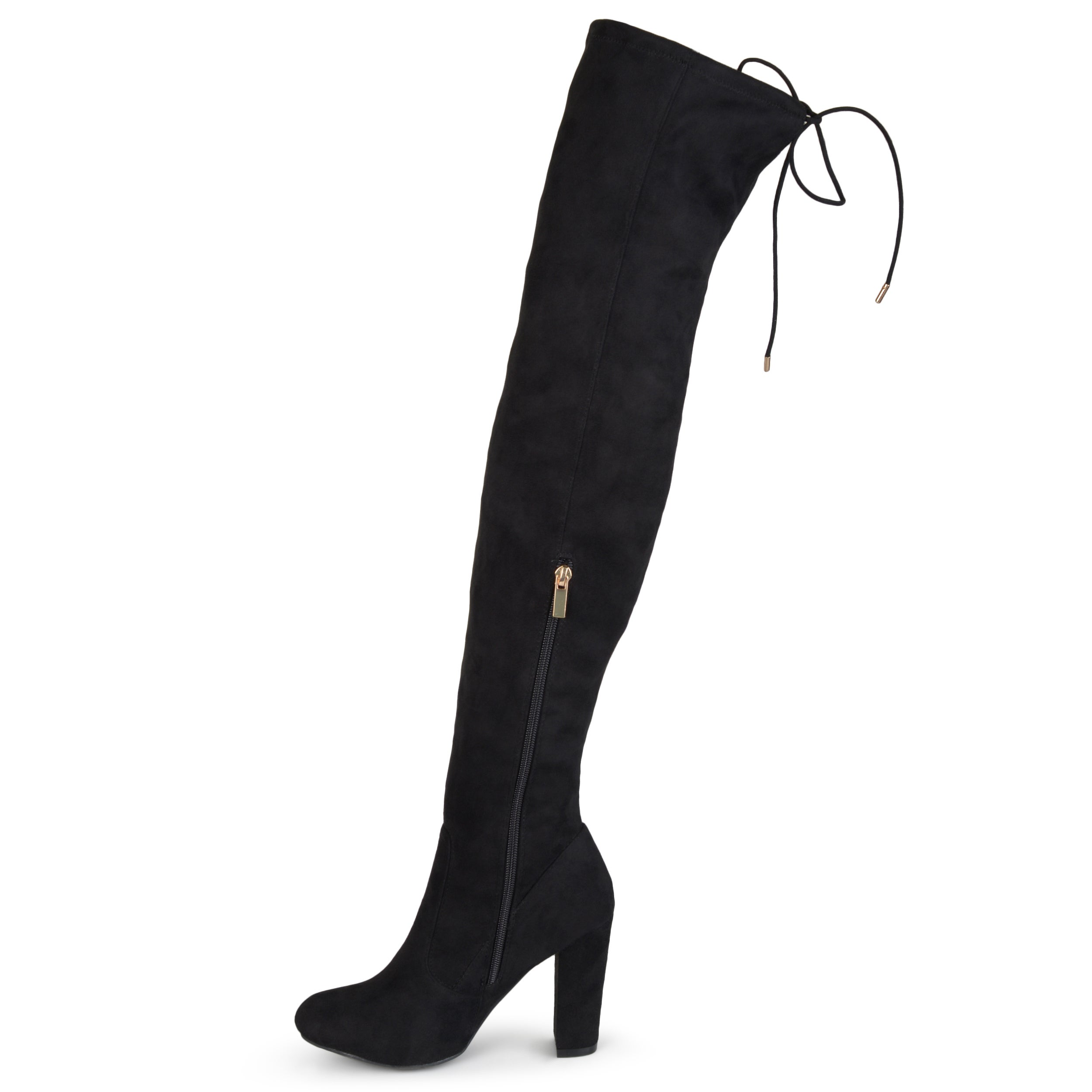 e90c77e26d7 Shop Journee Collection Women s  Maya  Faux Suede Regular and Wide Calf Over -the-knee Boots - On Sale - Free Shipping Today - Overstock - 12134750