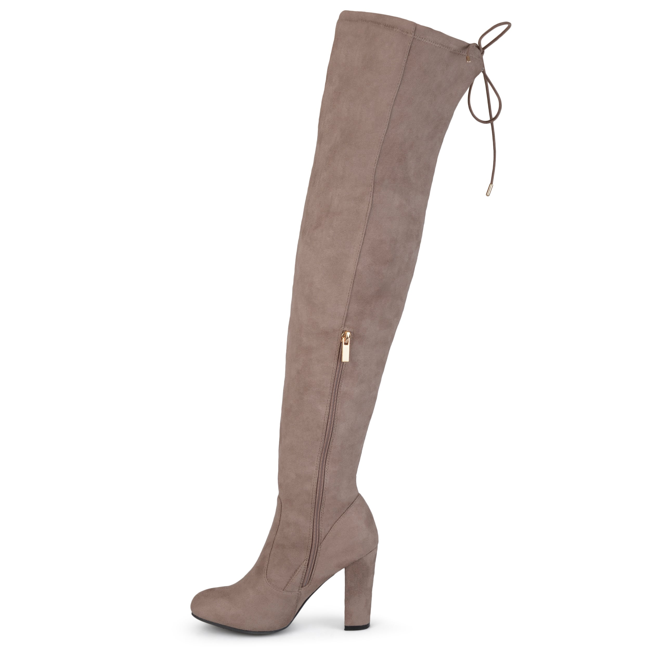 062eacbf9cf Shop Journee Collection Women s  Maya  Faux Suede Regular and Wide Calf Over -the-knee Boots - Free Shipping Today - Overstock - 12134750