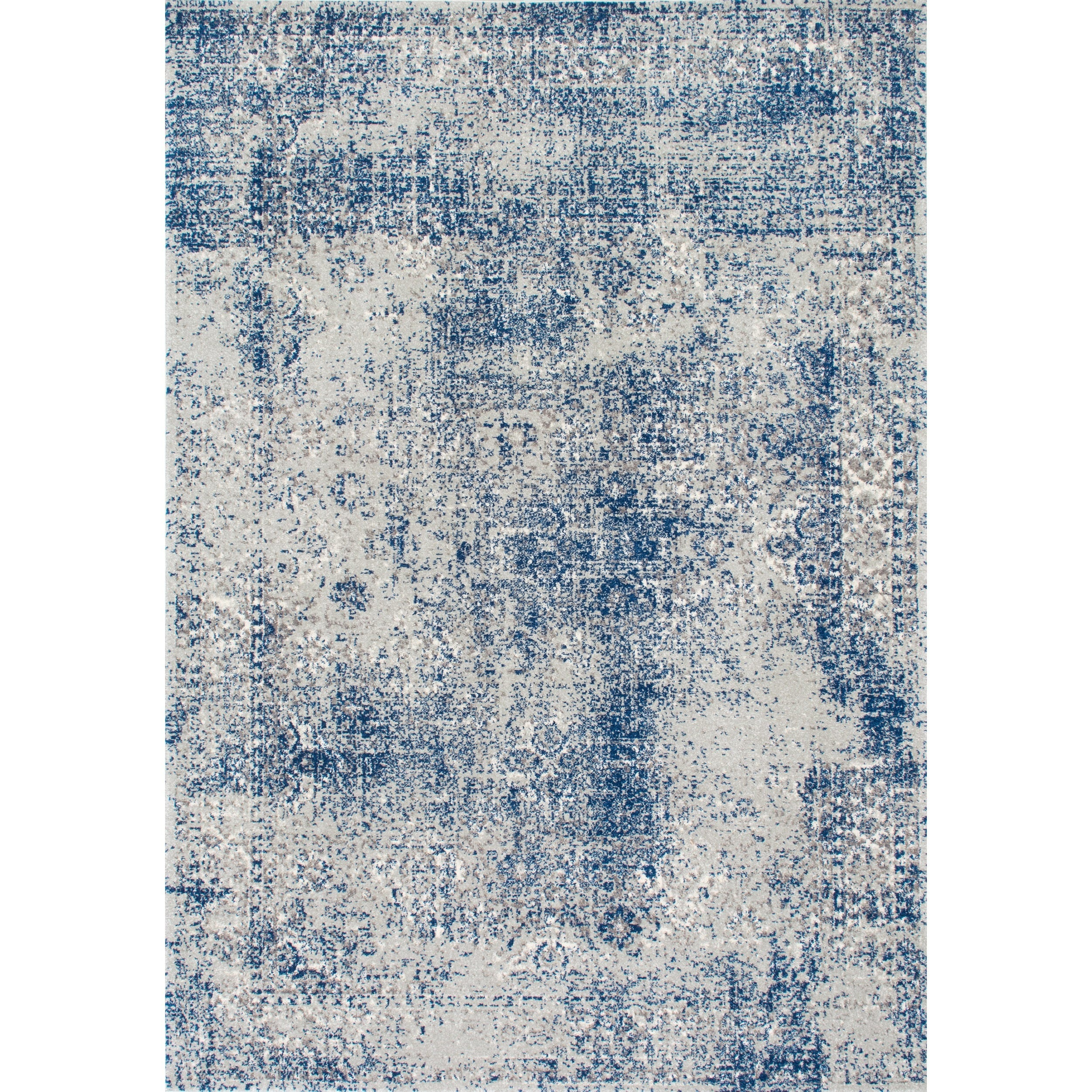Nuloom Vintage Distressed Blue Rug 8 X 10 On Free Shipping Today 12135000