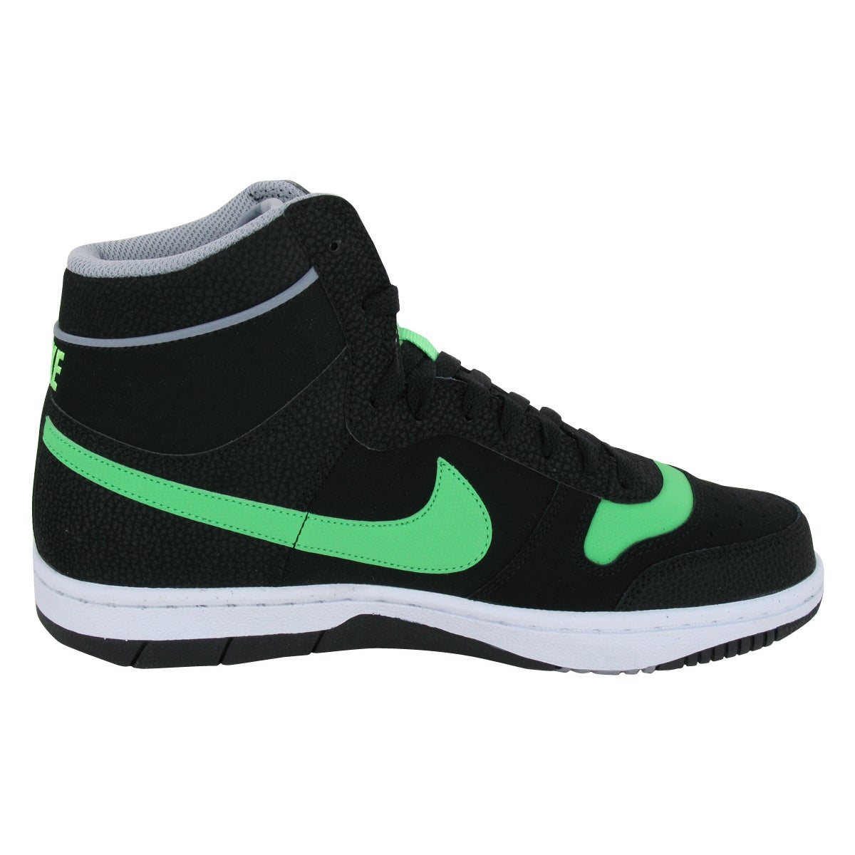 a4d221fd40b50 Nike Sky Team '87 Mid Blackreen/Stdm /White Basketball Shoes