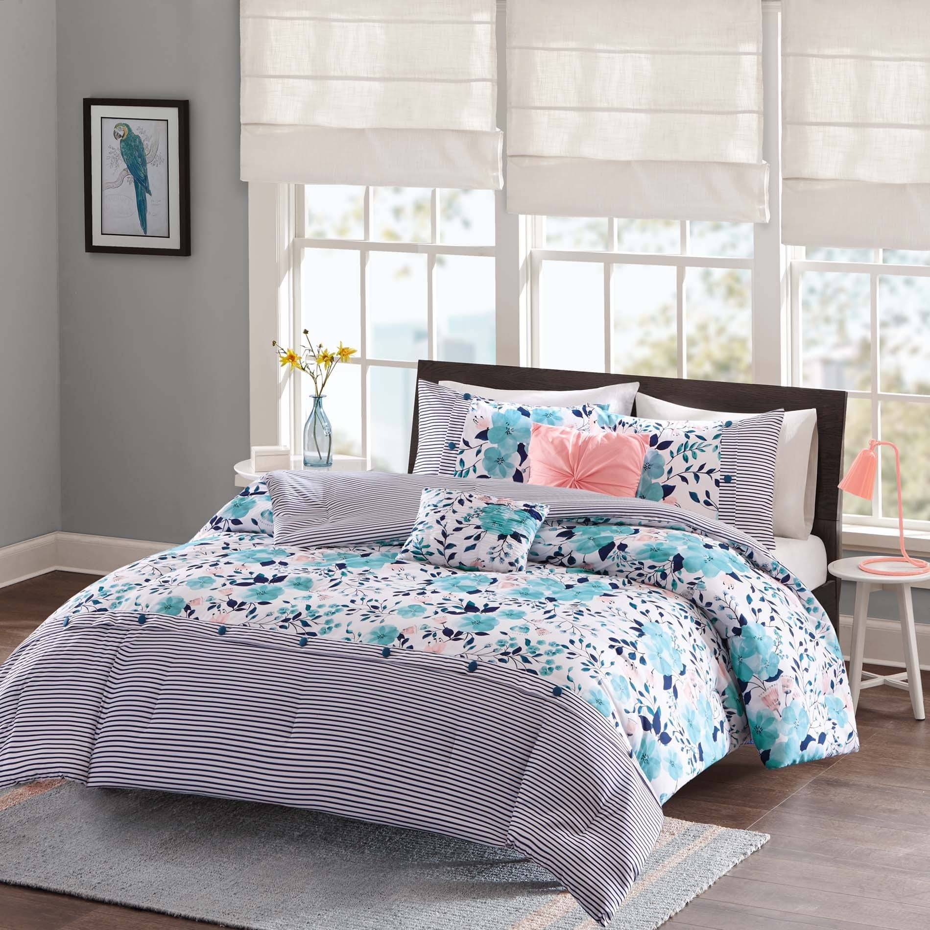 tiffany comforter name co products ink and bedding blue screenshot fashion inspired box rags personalized