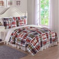 Laura Hart Kids Preppy Plaid 3-piece Quilt Set