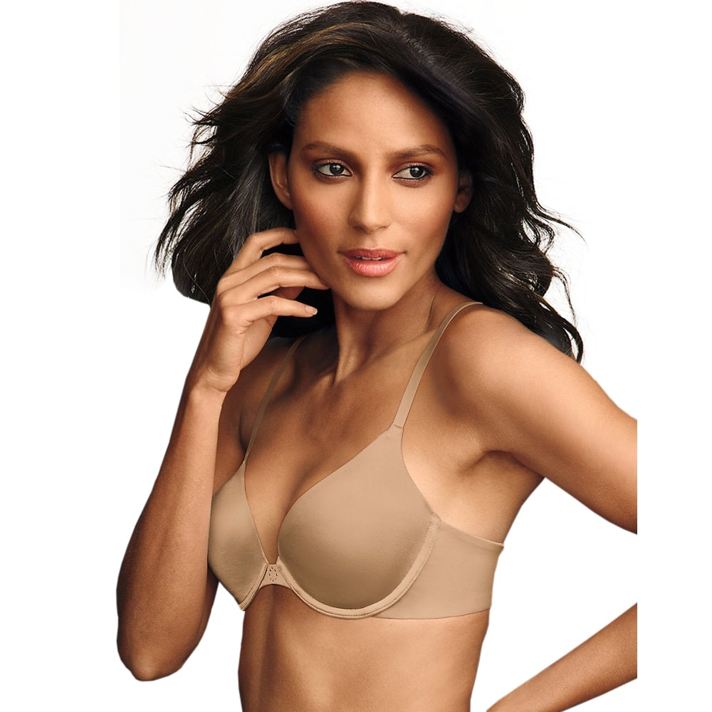 b87e2f2fd8537 Shop Maidenform Women s Latte Cotton Polyester Spandex Custom Lift Tailored  Demi T-shirt Bra - On Sale - Free Shipping On Orders Over  45 -  Overstock.com - ...