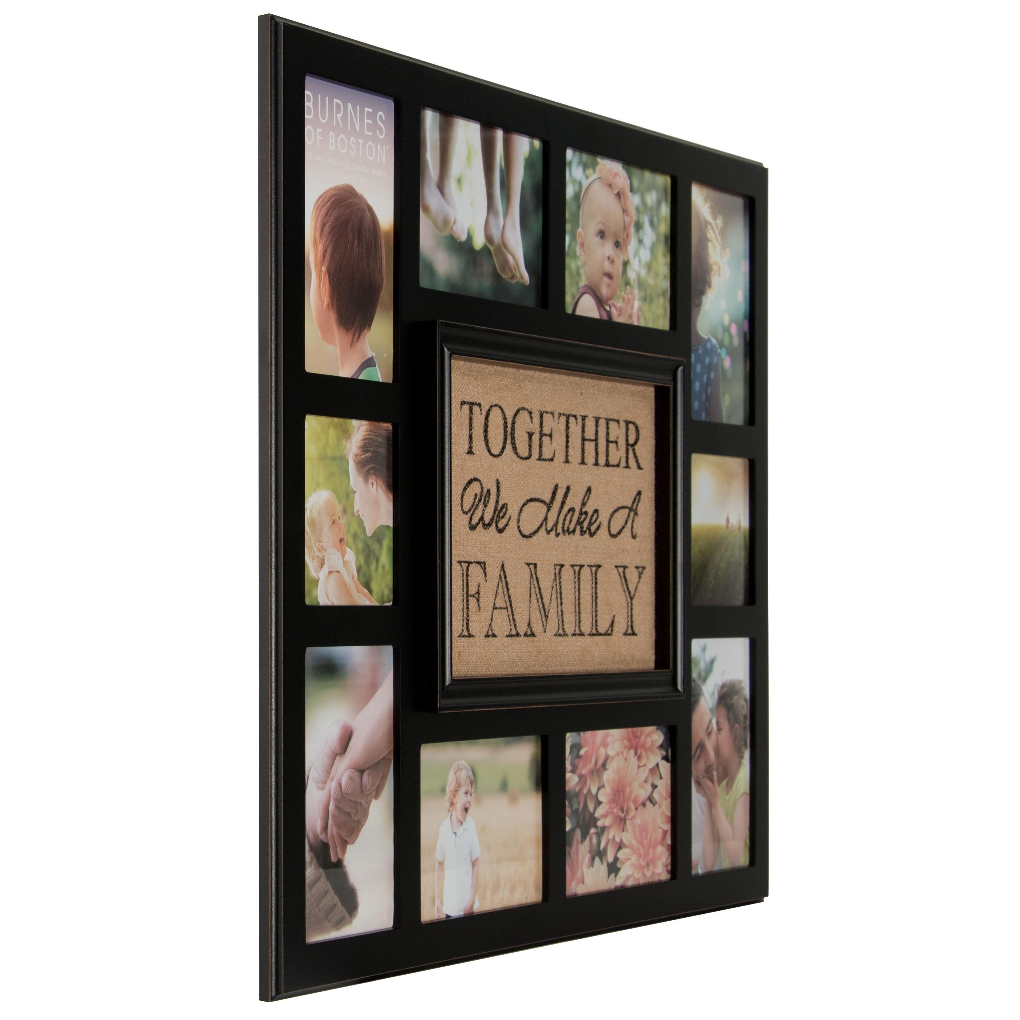 Shop Burnes of Boston Burlap \'Together We Make A Family\' Collage ...