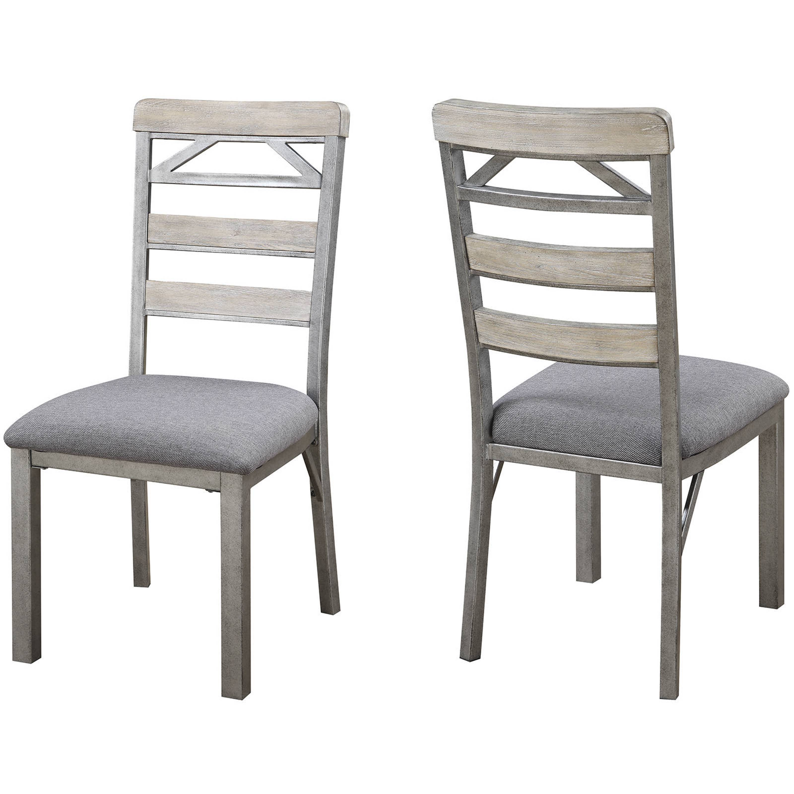 Shop Craftsman Architectural Industrial Designed Dining Chairs (Set Of 2)    Free Shipping Today   Overstock.com   12142320