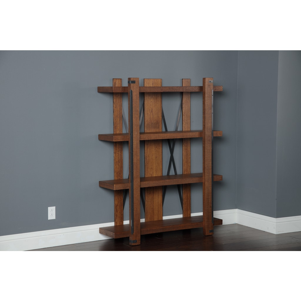 Four Shelf 60 Inch X 48 Bookcase On Free Shipping Today 12143702