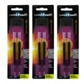 Uni-Ball 207 Black Ink Bold Point 1.0-millimeter Gel Pen Refill