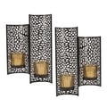 Mikasa Brown Laser-cut Wall Sconce (Set of 2)