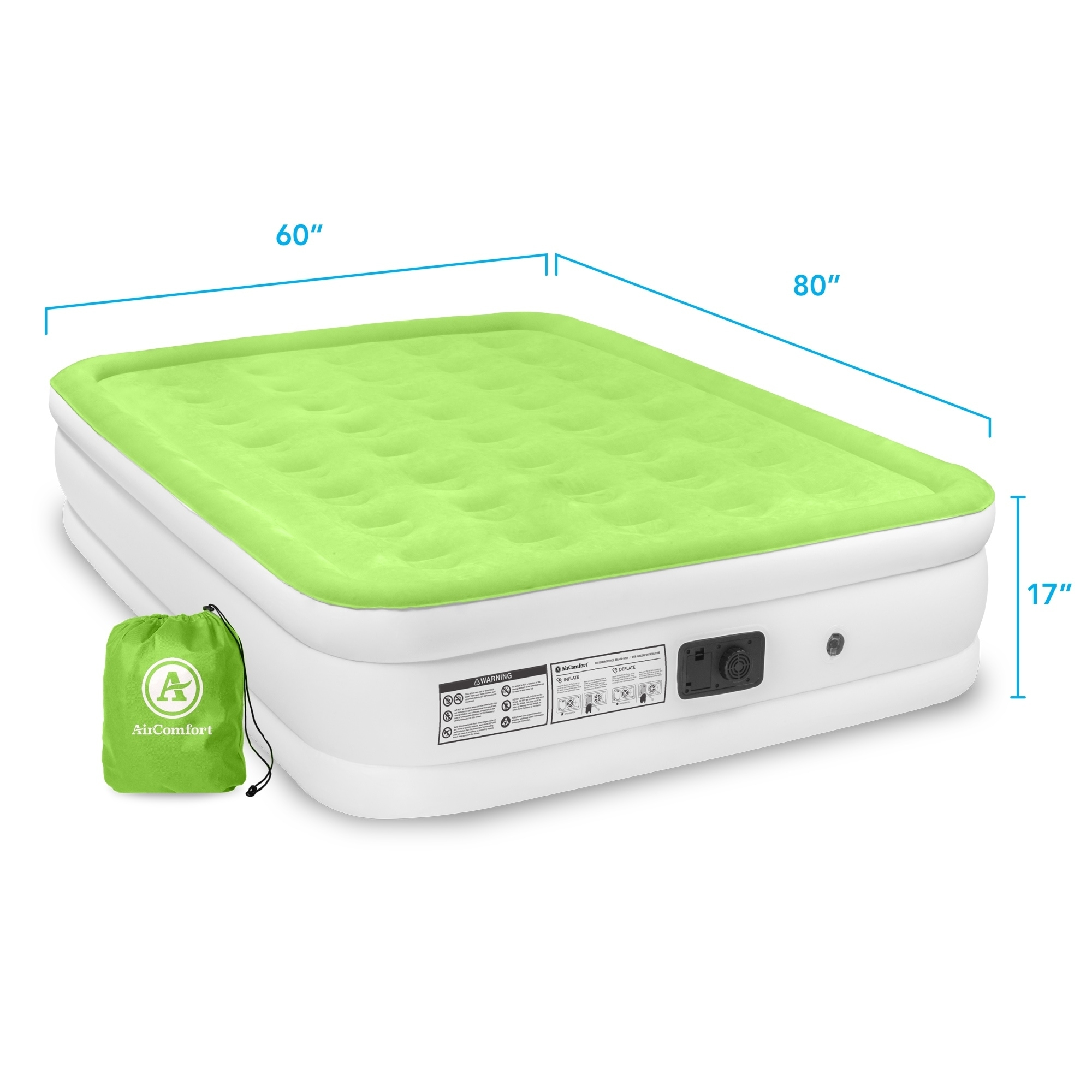 Shop Air Comfort Dream Easy Queen Size Raised Air Mattress With
