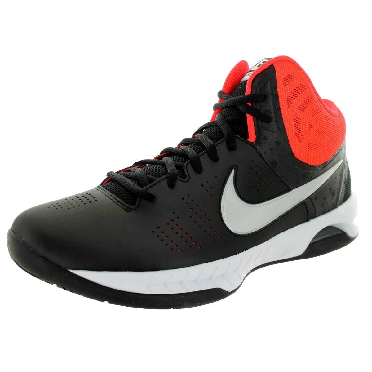 best loved e4977 65dd3 Shop Nike Men s Air Visi Pro VI Black Mesh Synthetic Basketball Shoes -  Free Shipping Today - Overstock - 12146627