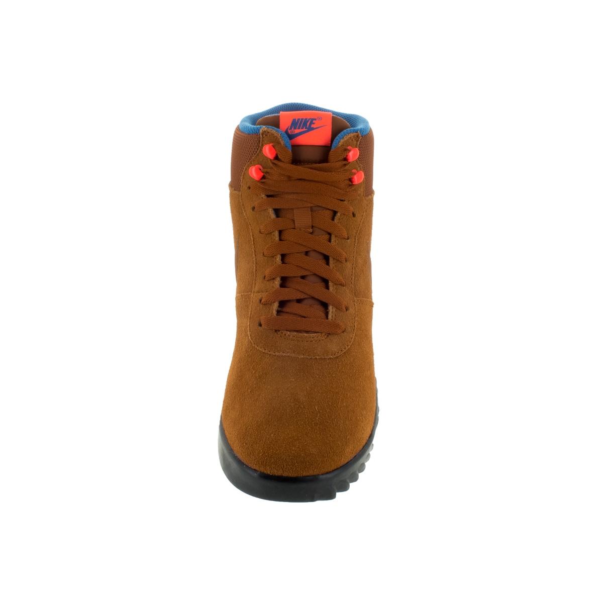 747de01918014 Nike Men's Hoodland Tawny/Orange Suede Boot