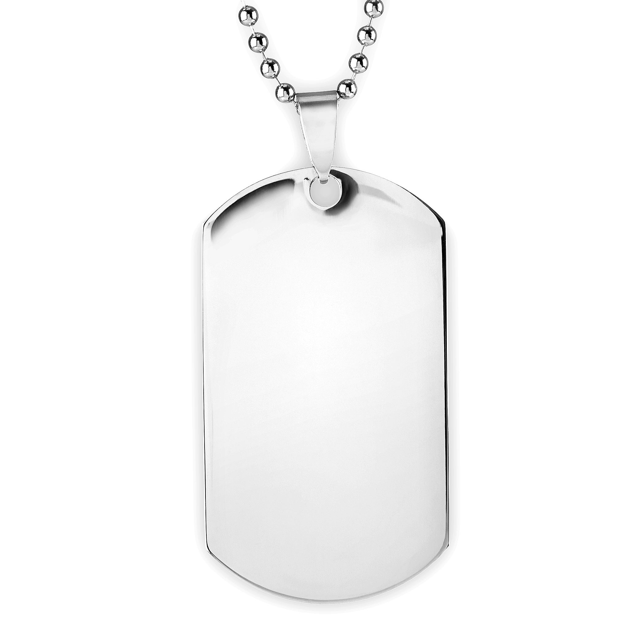 dp inch chain bullet style army necklace pendant amazon mens jewellery alloy uk cupimatch biker tag dog co military