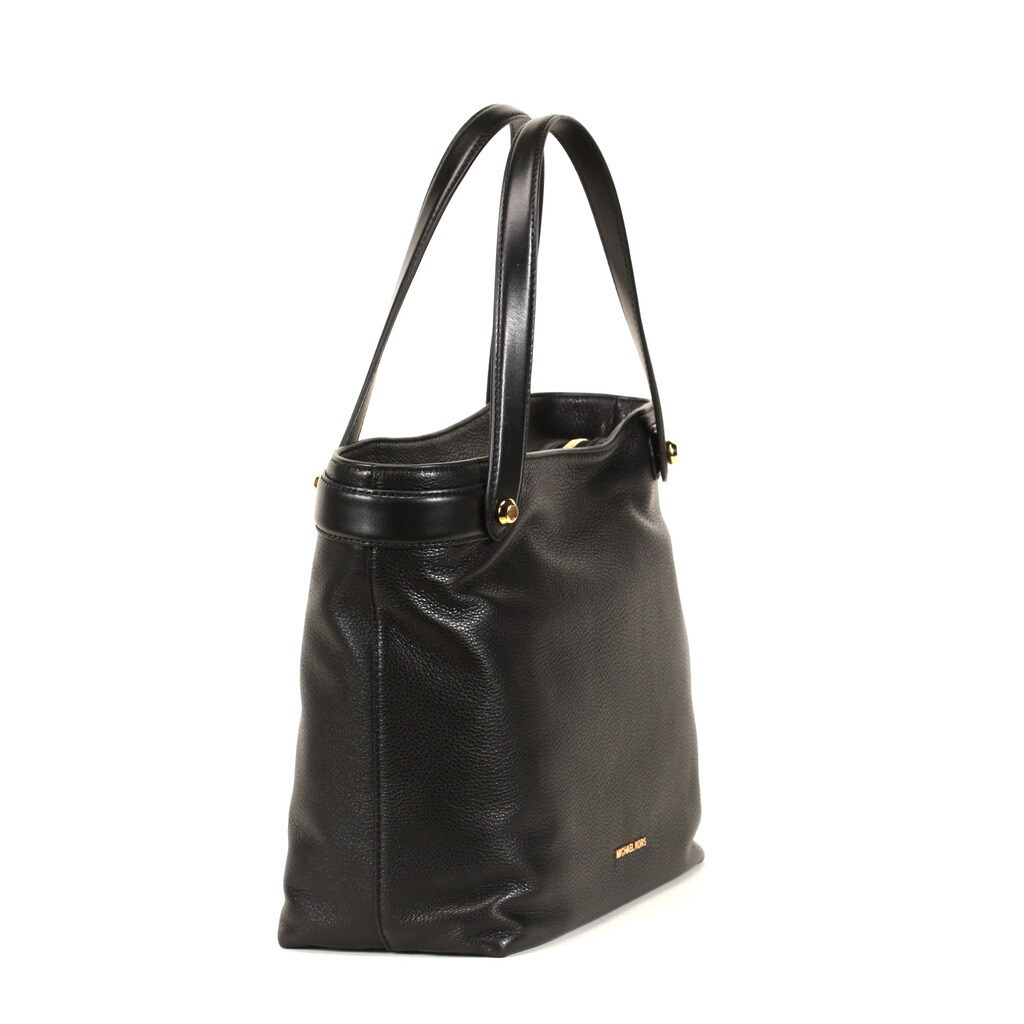 722a42c160c1 Shop Michael Kors Black Medium Hyland Convertible Tote Bag - Free Shipping  Today - Overstock - 12154997