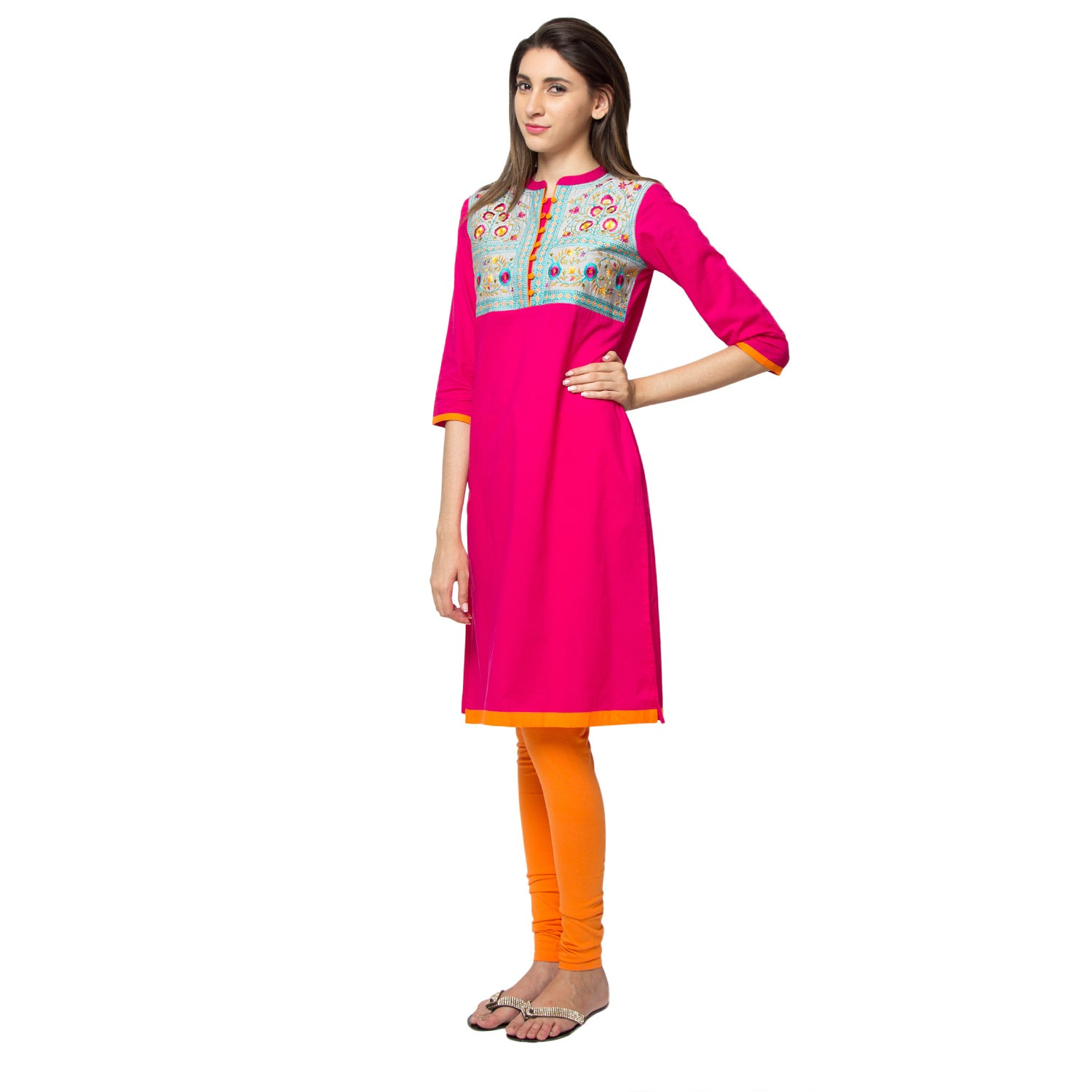 18918fa6d9d Shop Handmade In-Sattva Ethnicity Women's Royal Kurta Tunic (India) - Free  Shipping On Orders Over $45 - Overstock - 12157112