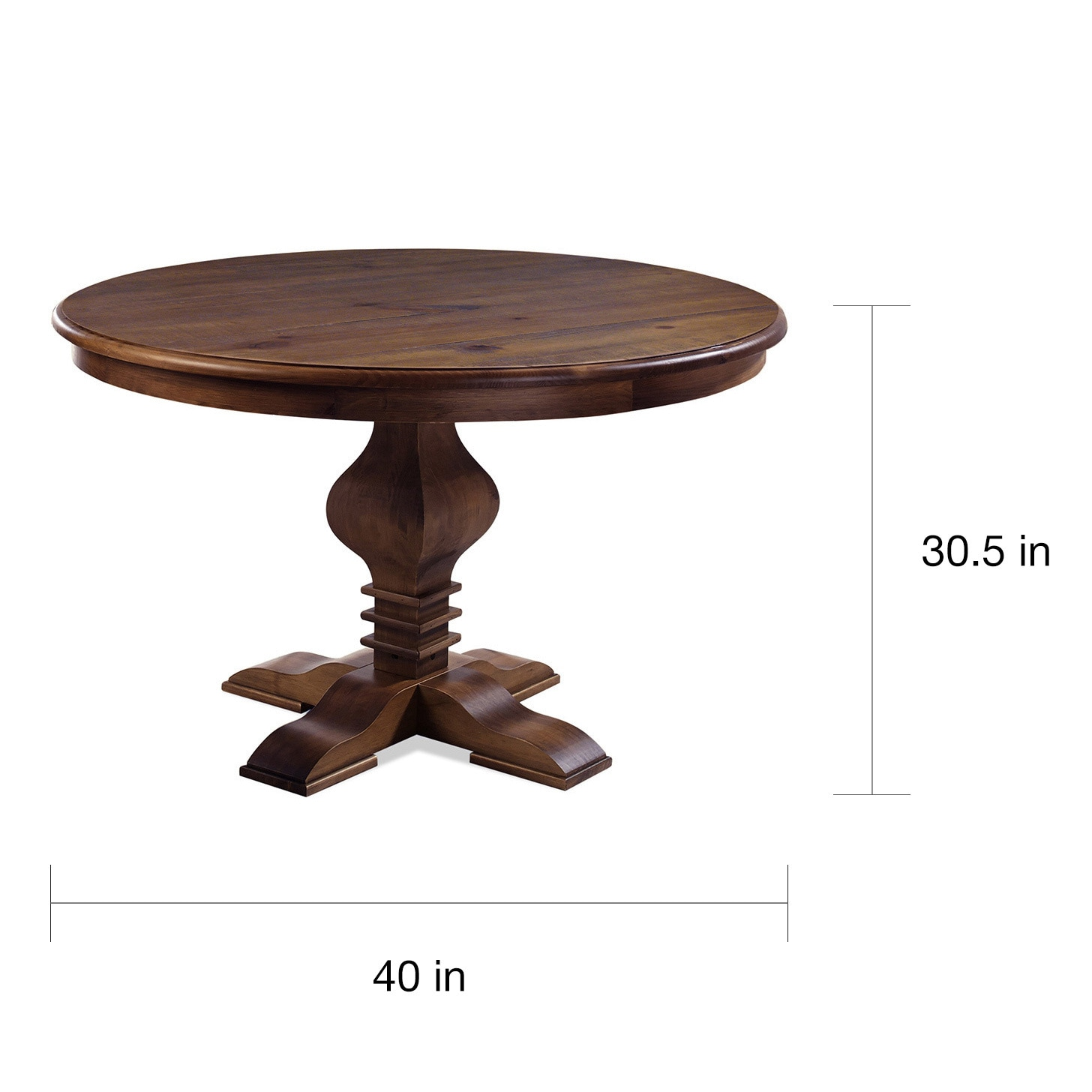 Artefama Tower Distressed 47 Inch Round Table On Free Shipping Today 12171659