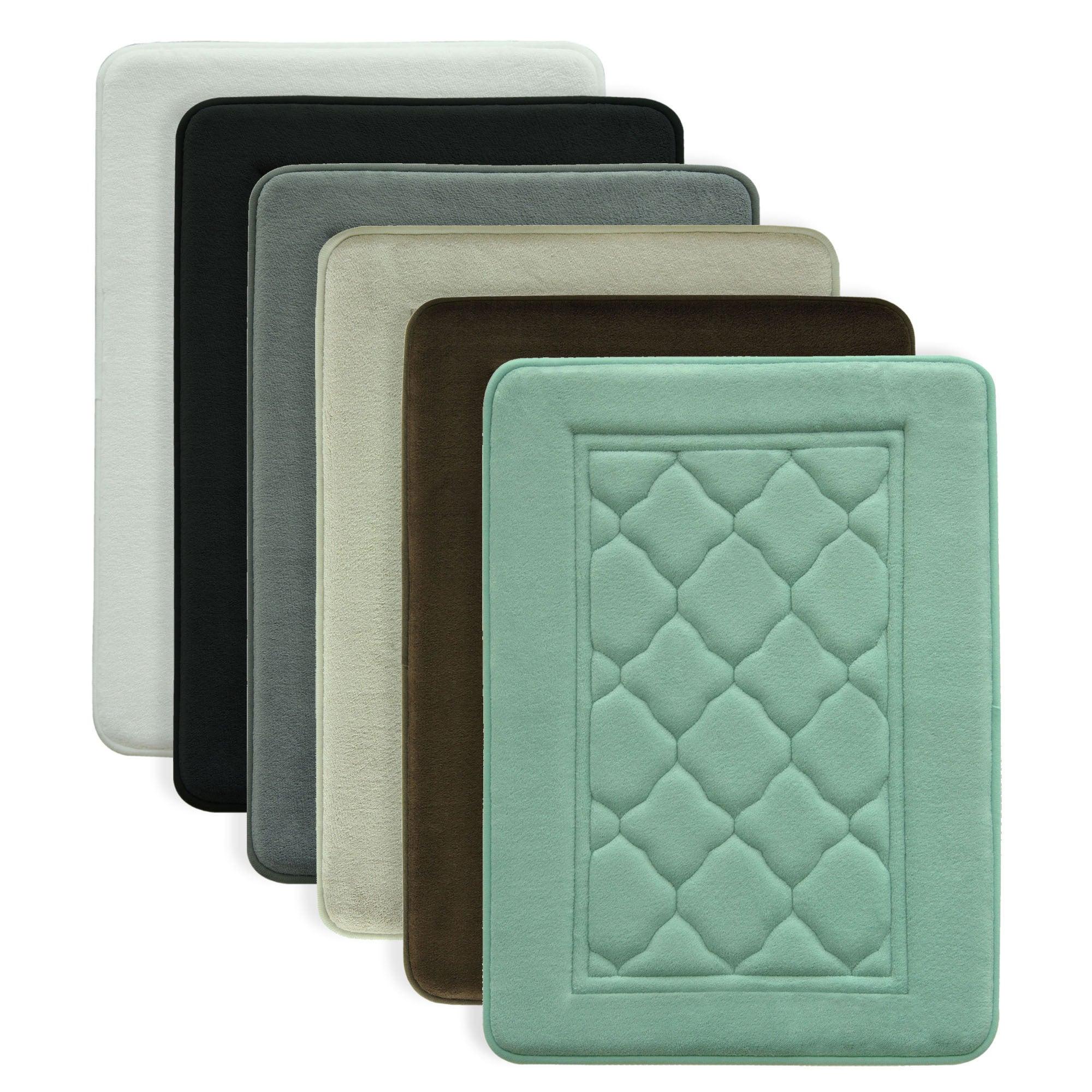 Microban Antimicrobial Memory Foam Bath Rug