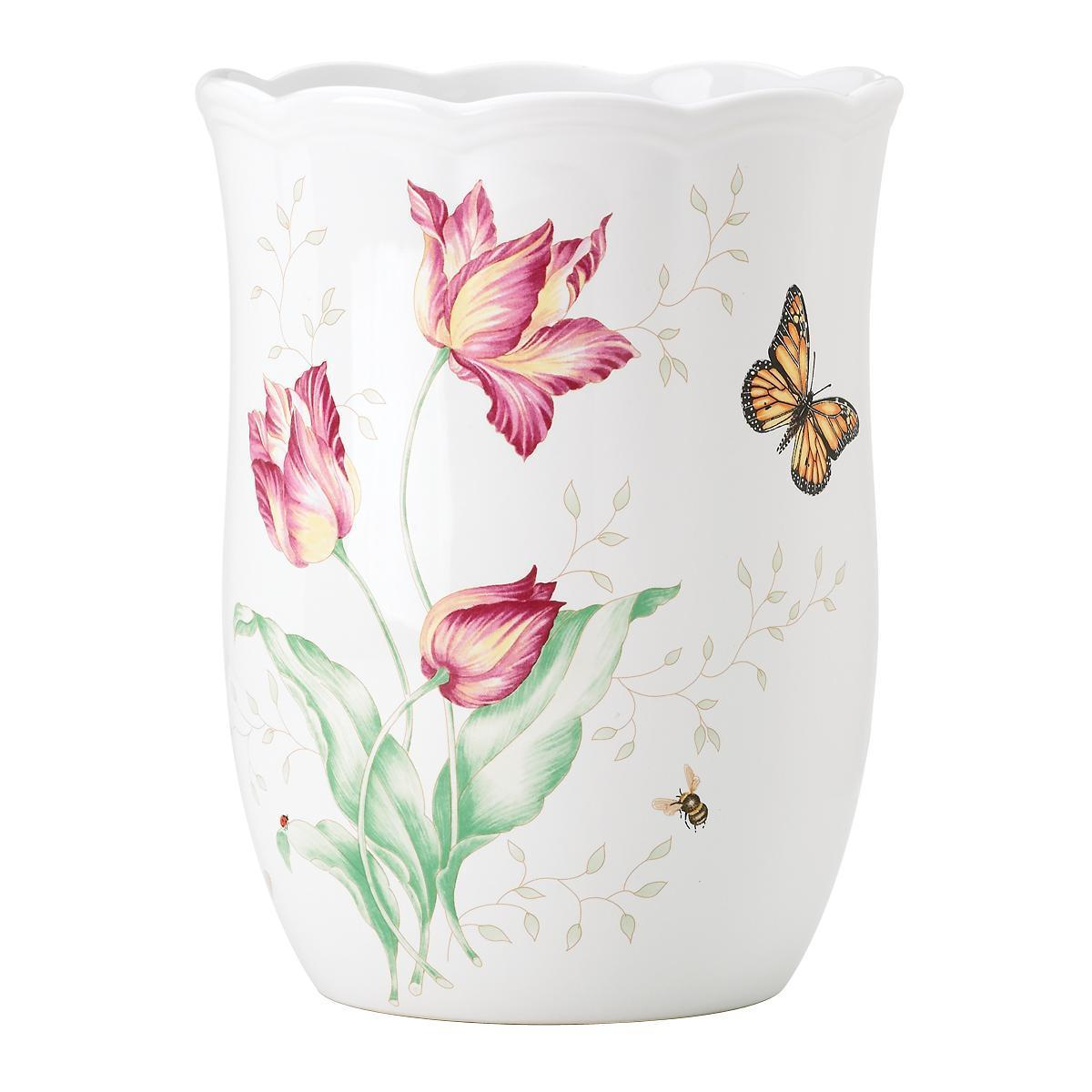 Lenox butterfly meadow waste basket free shipping today lenox butterfly meadow waste basket free shipping today overstock 19024431 reviewsmspy