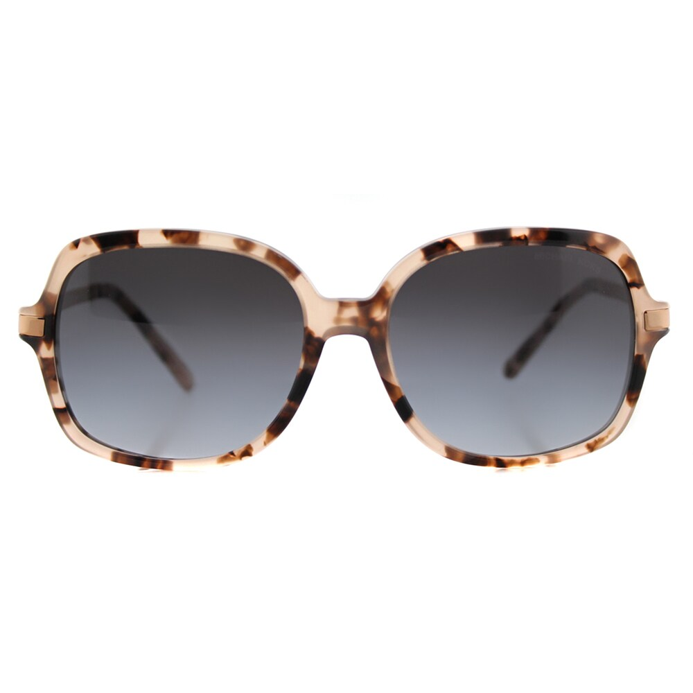 ff01a6c216 Shop Michael Kors MK 2024 316213 Adrianna II Pink Tortoise Plastic Square  Grey Gradient Lens Sunglasses - Free Shipping Today - Overstock - 12175225