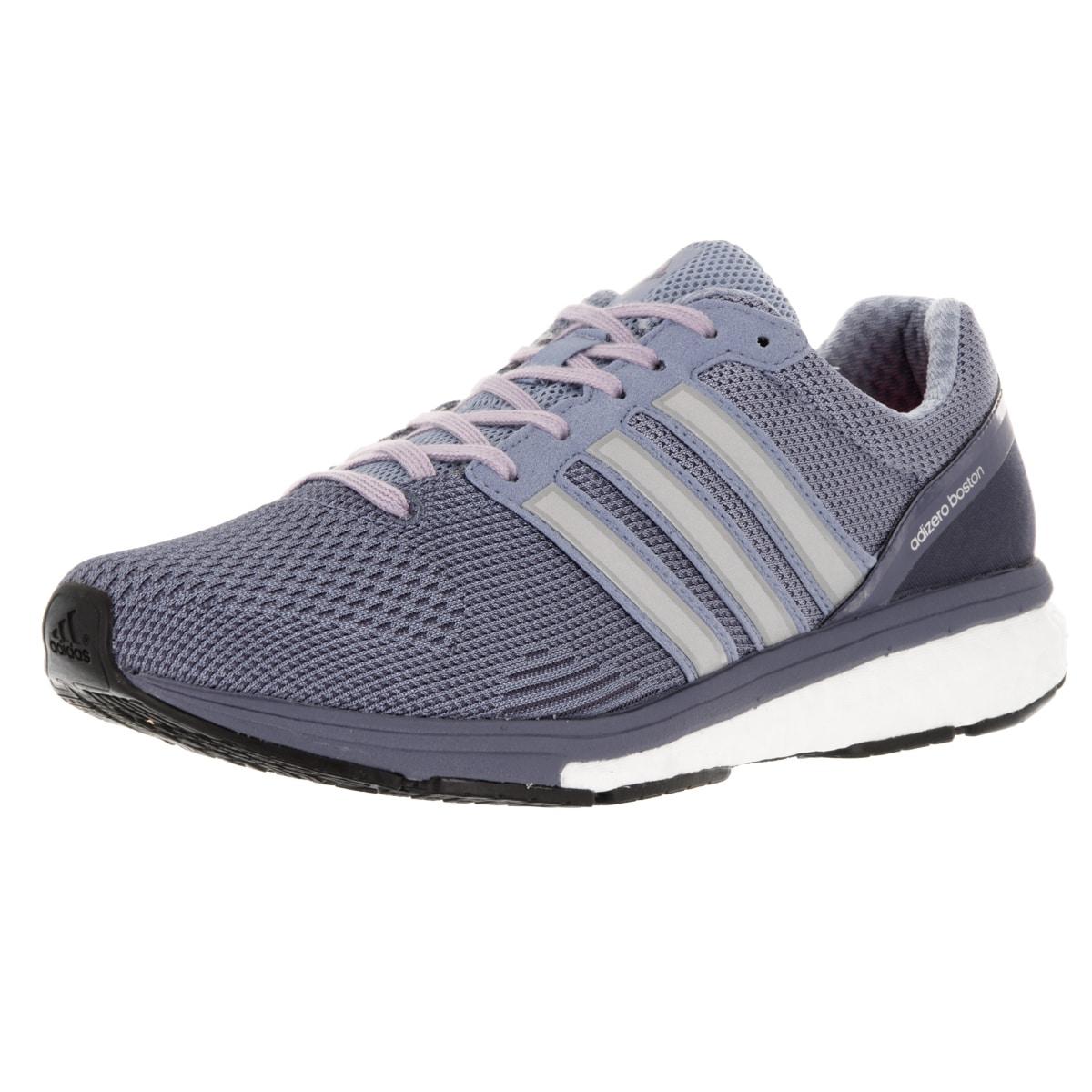 best service 23dc4 0a90e Adidas Womens Adizero Boston 5 Tsf W Purple Running Shoe