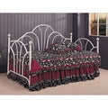 Coaster Company White Metal Twin-size Daybed