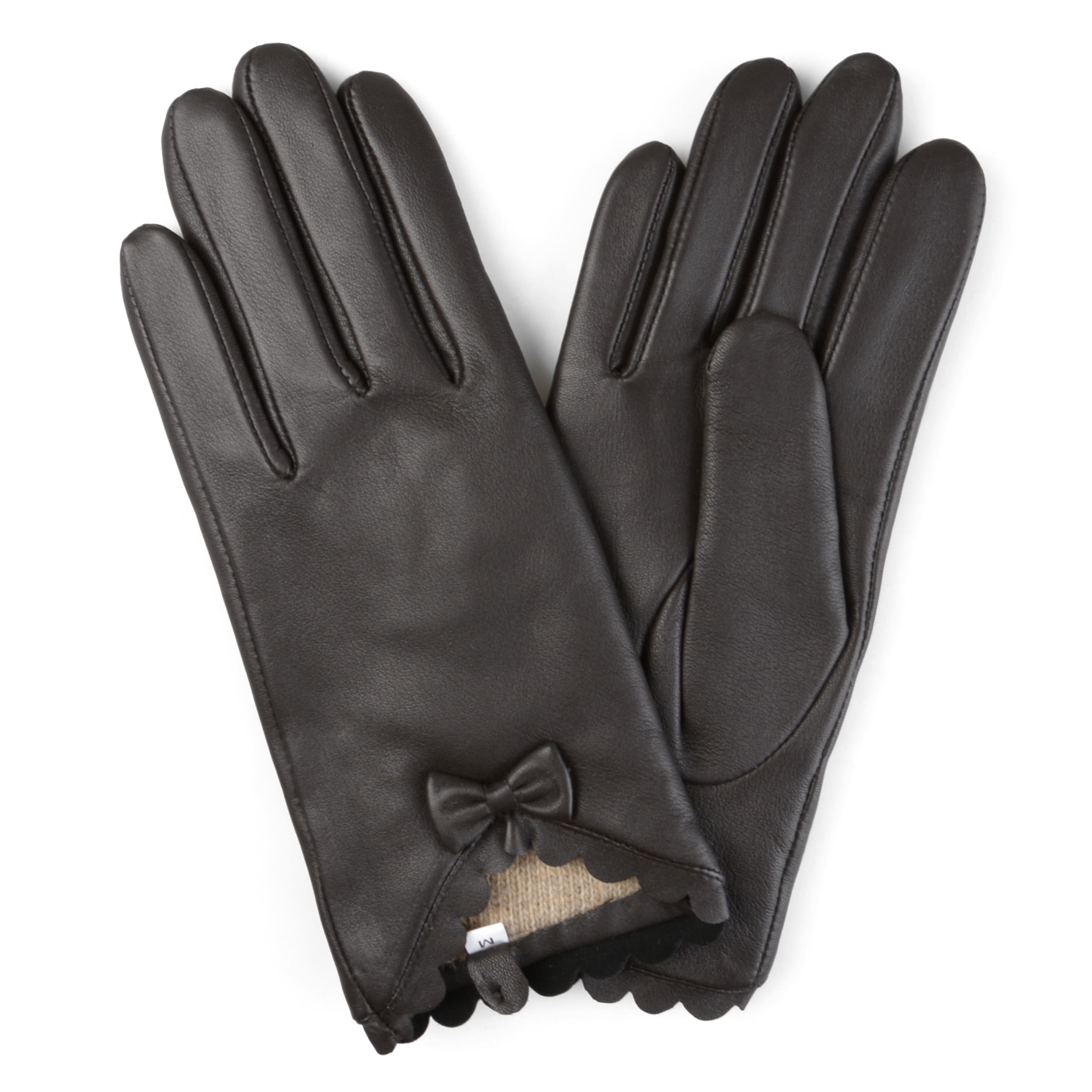 aa91d1c23 Shop Journee Collection Women's Wool Lined Leather Sheepskin Gloves - Free  Shipping On Orders Over $45 - Overstock - 12182041