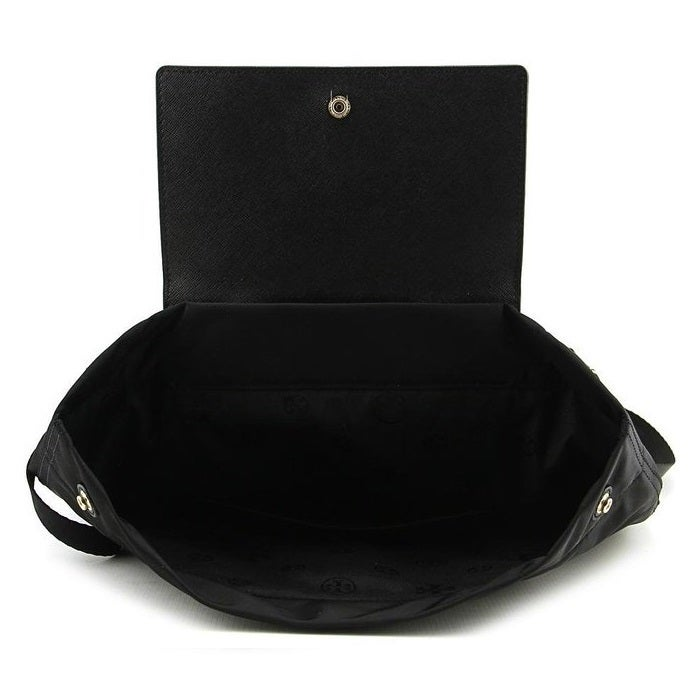 33d773c97a5e Shop Tory Burch Ella Black Packable Backpack - Free Shipping Today -  Overstock - 12184315