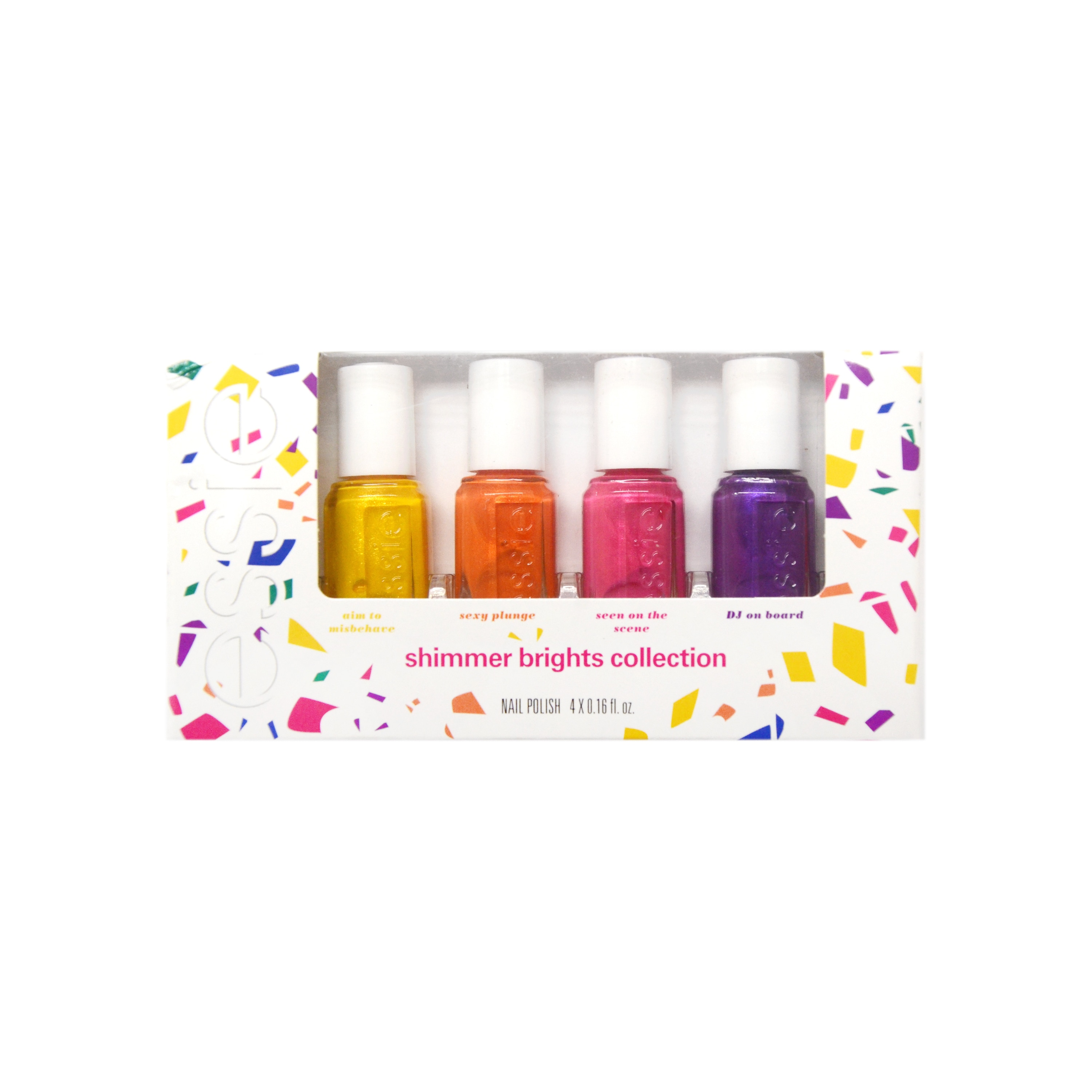 Essie Shimmer Brights 4-piece Mini Nail Polish Collection - Free ...