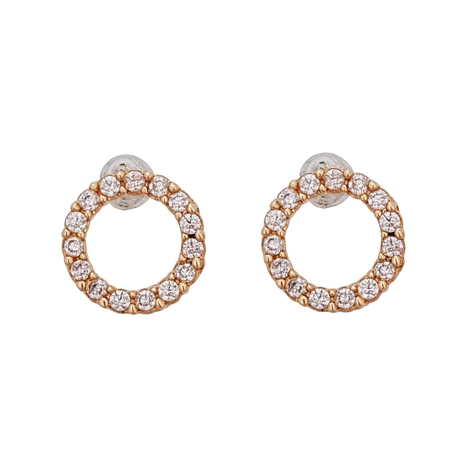 stud diamond fullxfull chrismas products yellow circle gift original earrings with il circles gold diamonds open