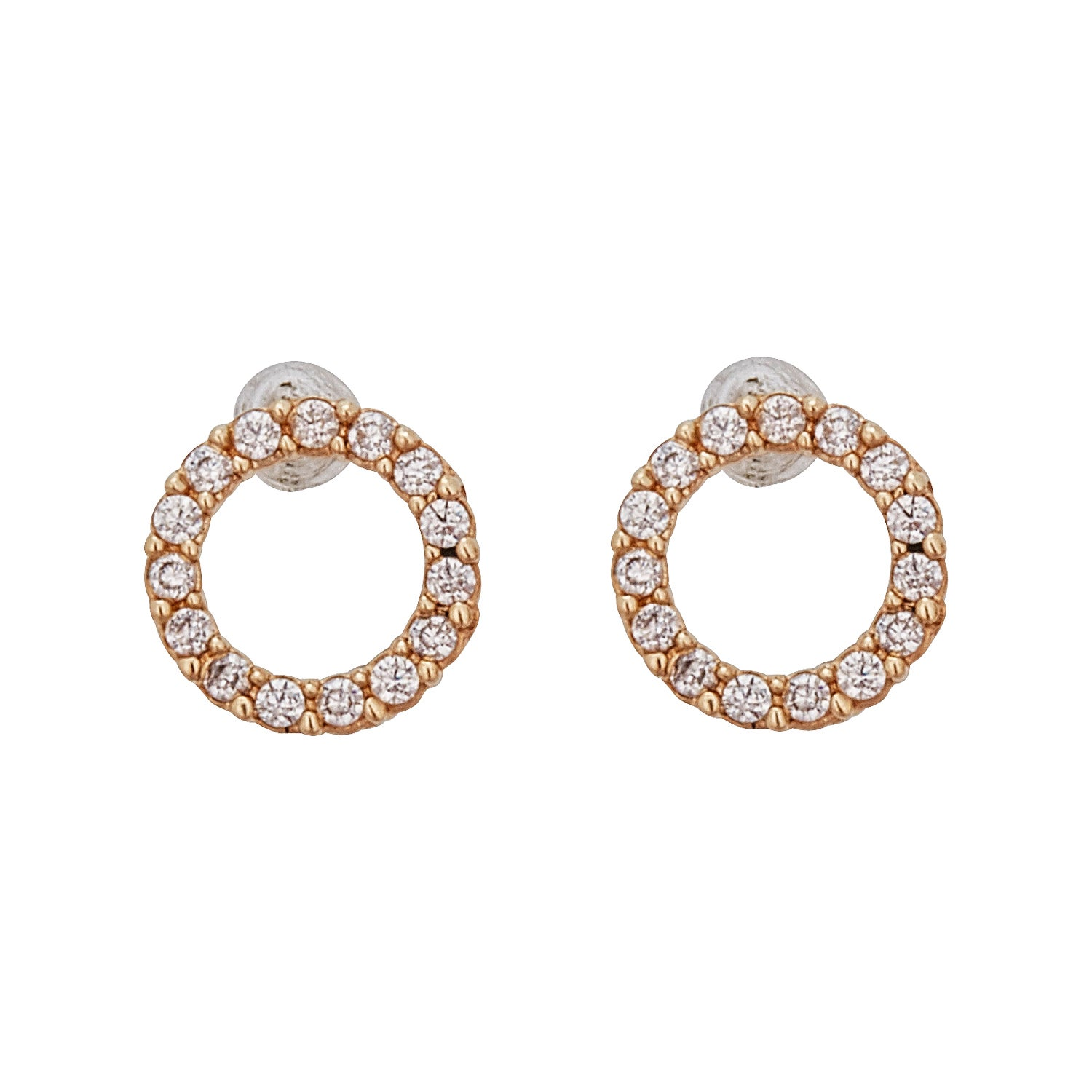 product earrings open diamond home shiny circle ade nature