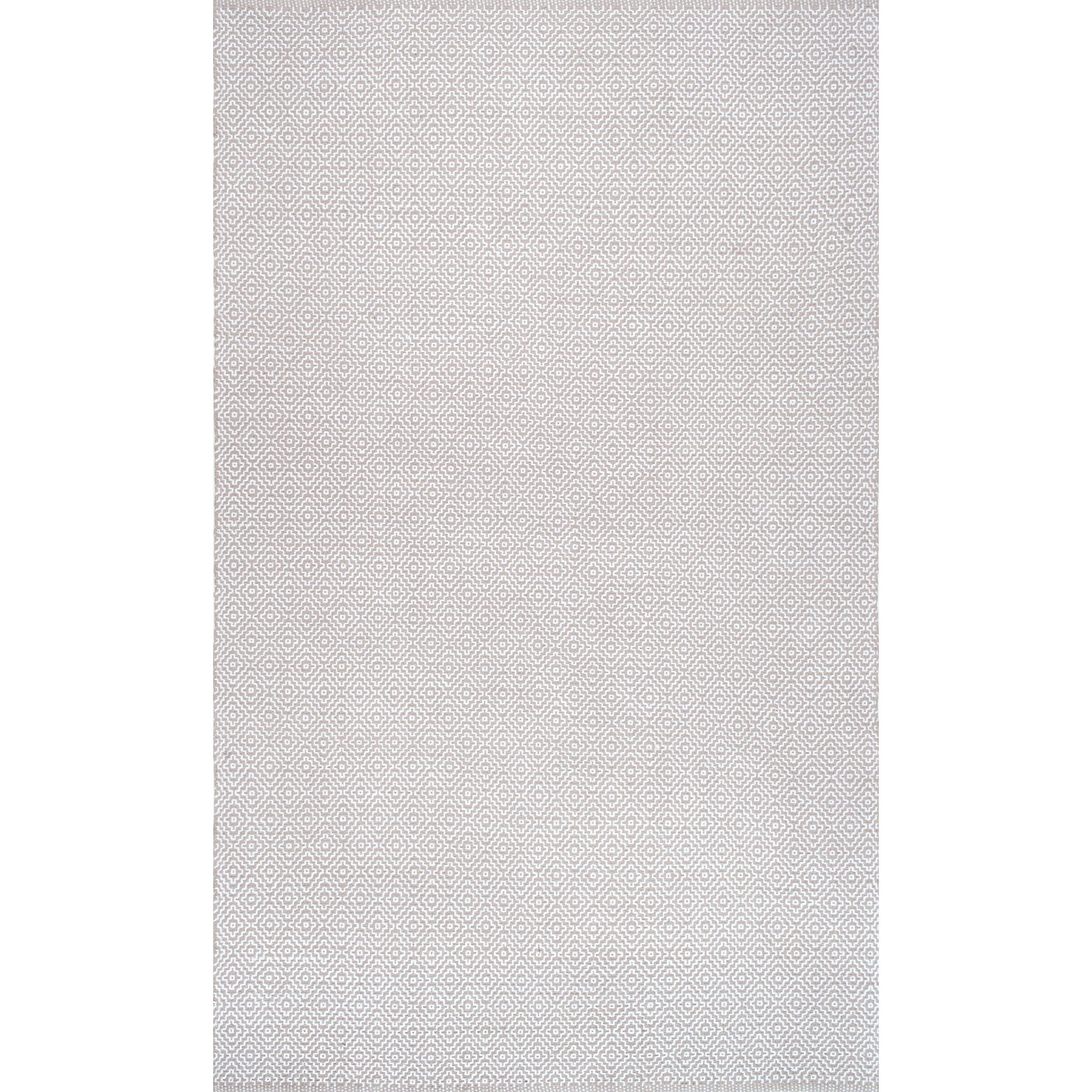 Nuloom Handmade Flatweave Diamond Cotton Rug 6 X 9 On Free Shipping Today 12185248