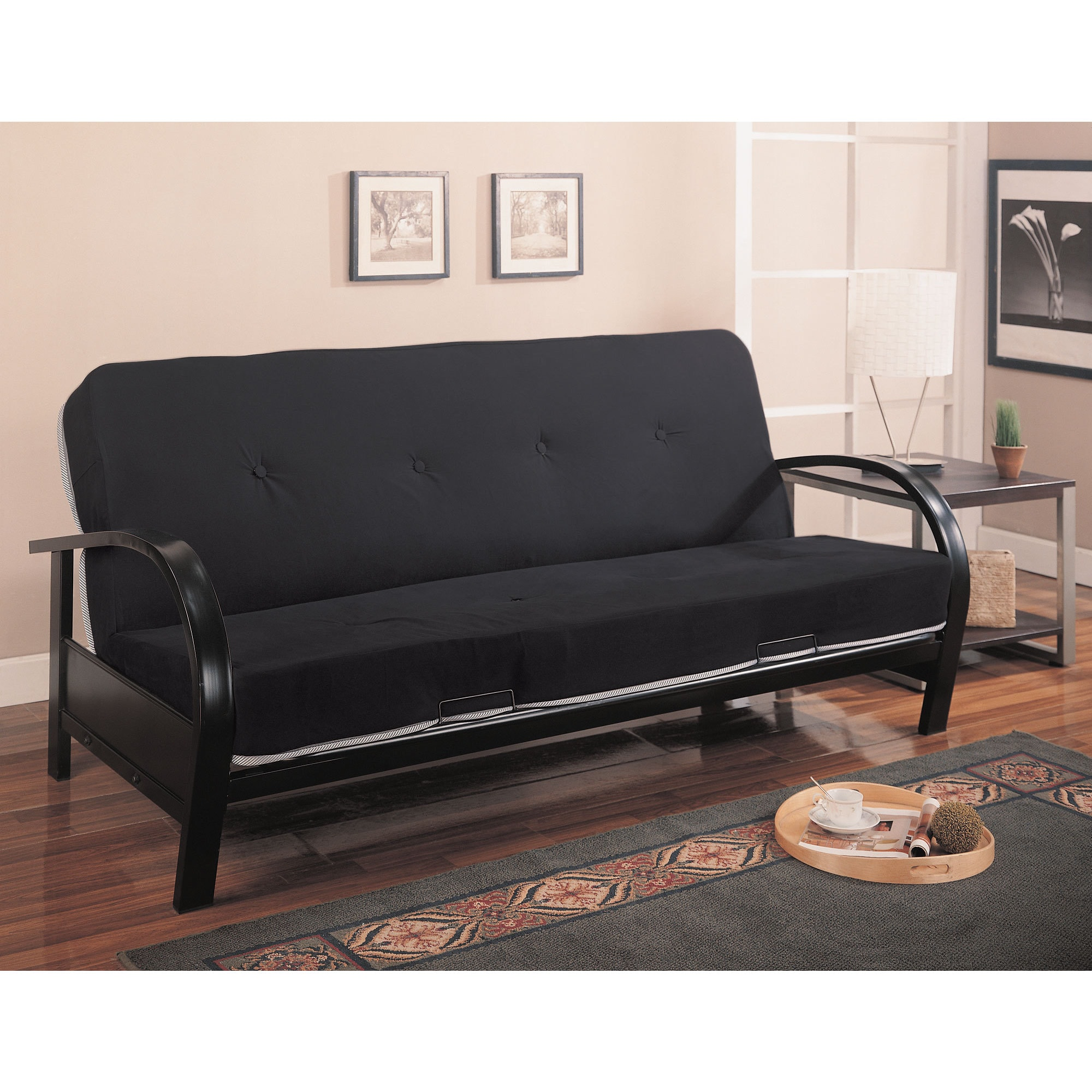 Coaster Company Black Metal Futon Frame Free Shipping Today Com 12185816