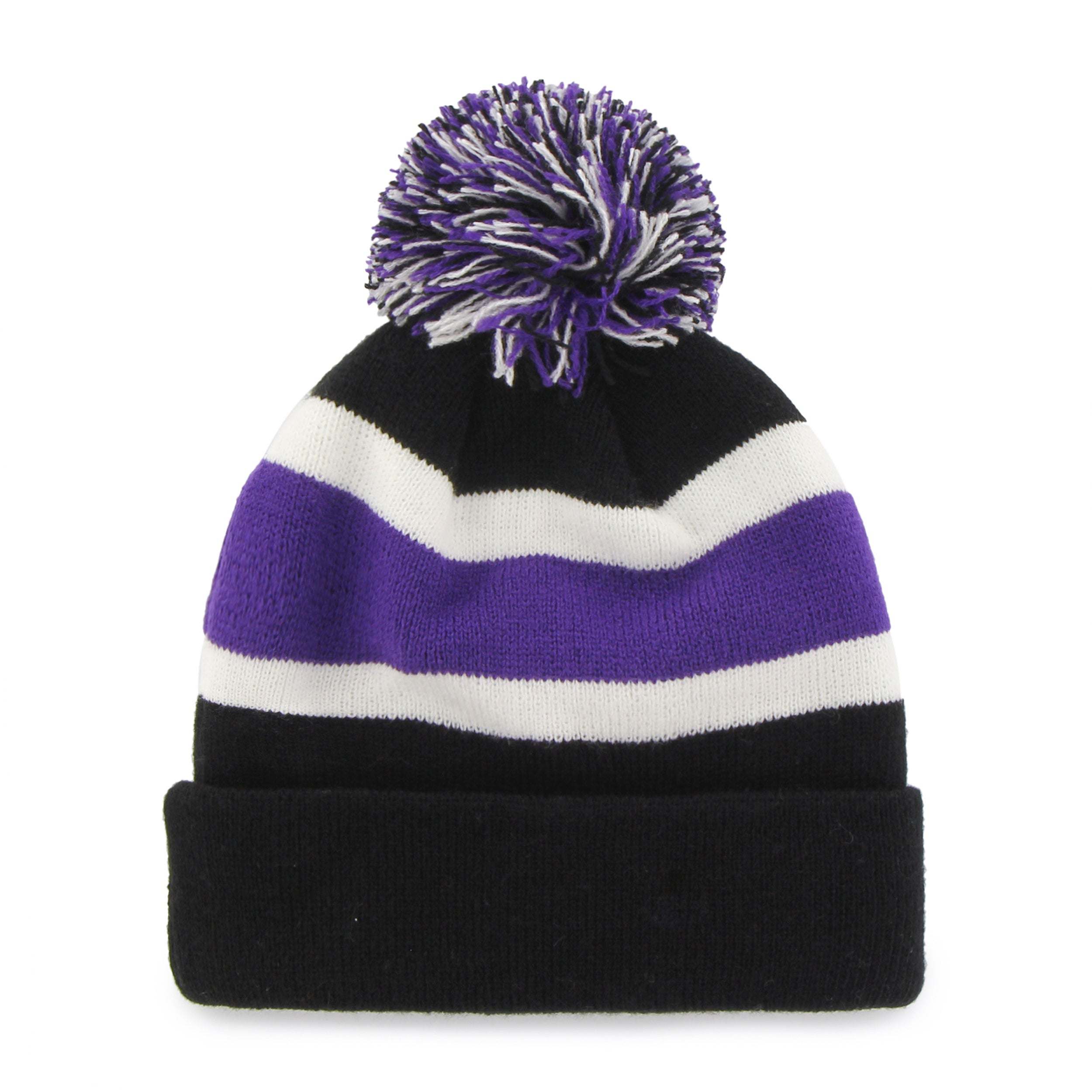 Shop Fan Favorites Baltimore Ravens NFL Knit Beanie Hat - Baltimore Ravens  - Free Shipping On Orders Over  45 - Overstock - 12186159 8f1ec776d