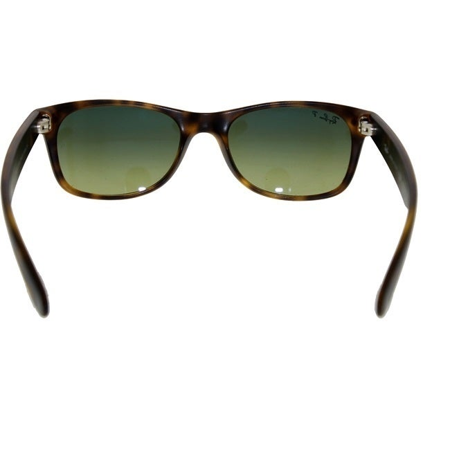 523e3ec18d Shop Ray-Ban RB2132 894 76 New Wayfarer Tortoise Frame Polarized Blue Green  Gradient 52mm Lens Sunglasses - Free Shipping Today - Overstock - 12186321