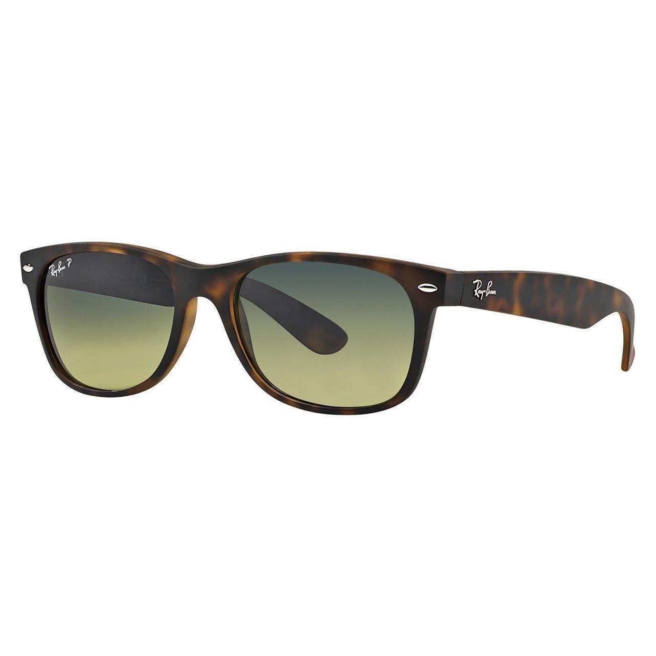 f47301ccd8ab Ray-Ban RB2132 894/76 New Wayfarer Tortoise Frame Polarized Blue/Green  Gradient 52mm Lens Sunglasses