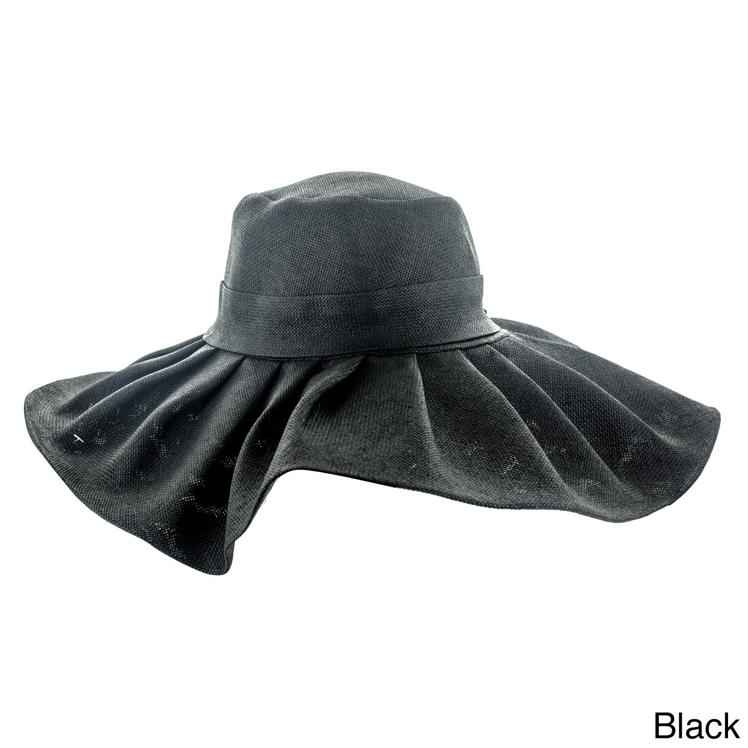 Shop Faddism Women s Floppy Sun Hat with Ruffled Rim - Free Shipping ... 5588f5edc6e